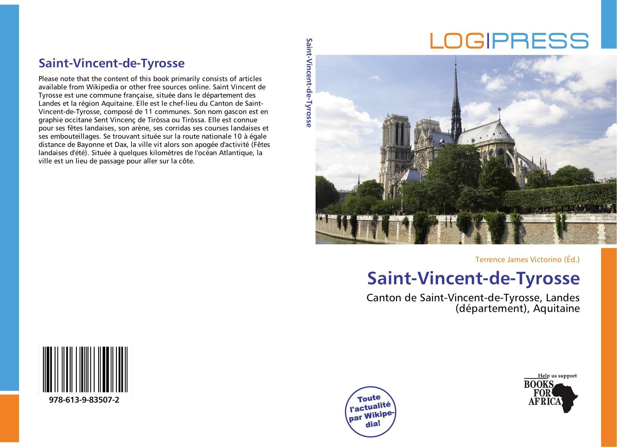 Saint vincent de tyrosse 978 613 9 83507 2 6139835070 for Papeterie saint vincent de tyrosse