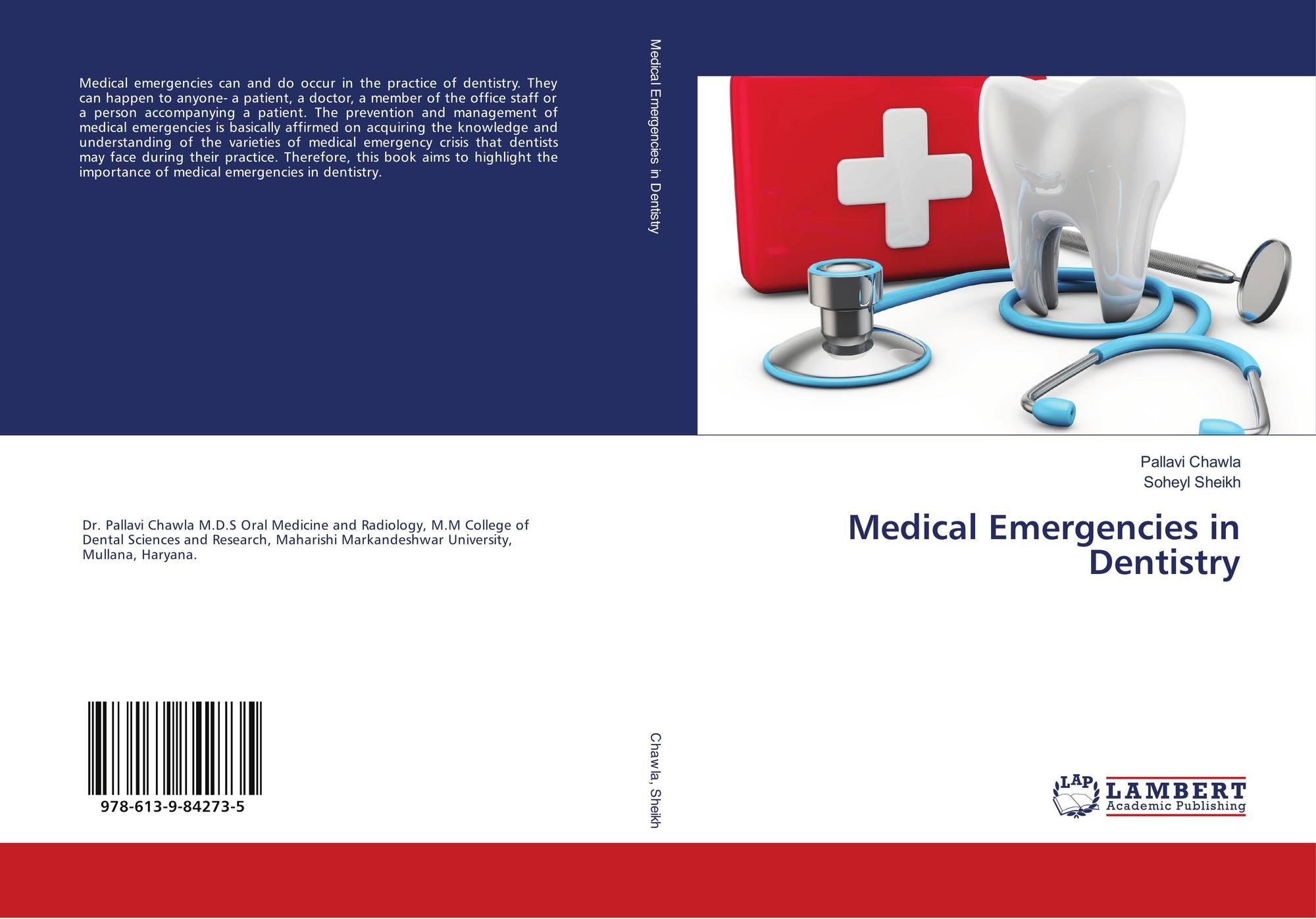 Medical Emergencies in Dentistry, 978-613-9-84273-5