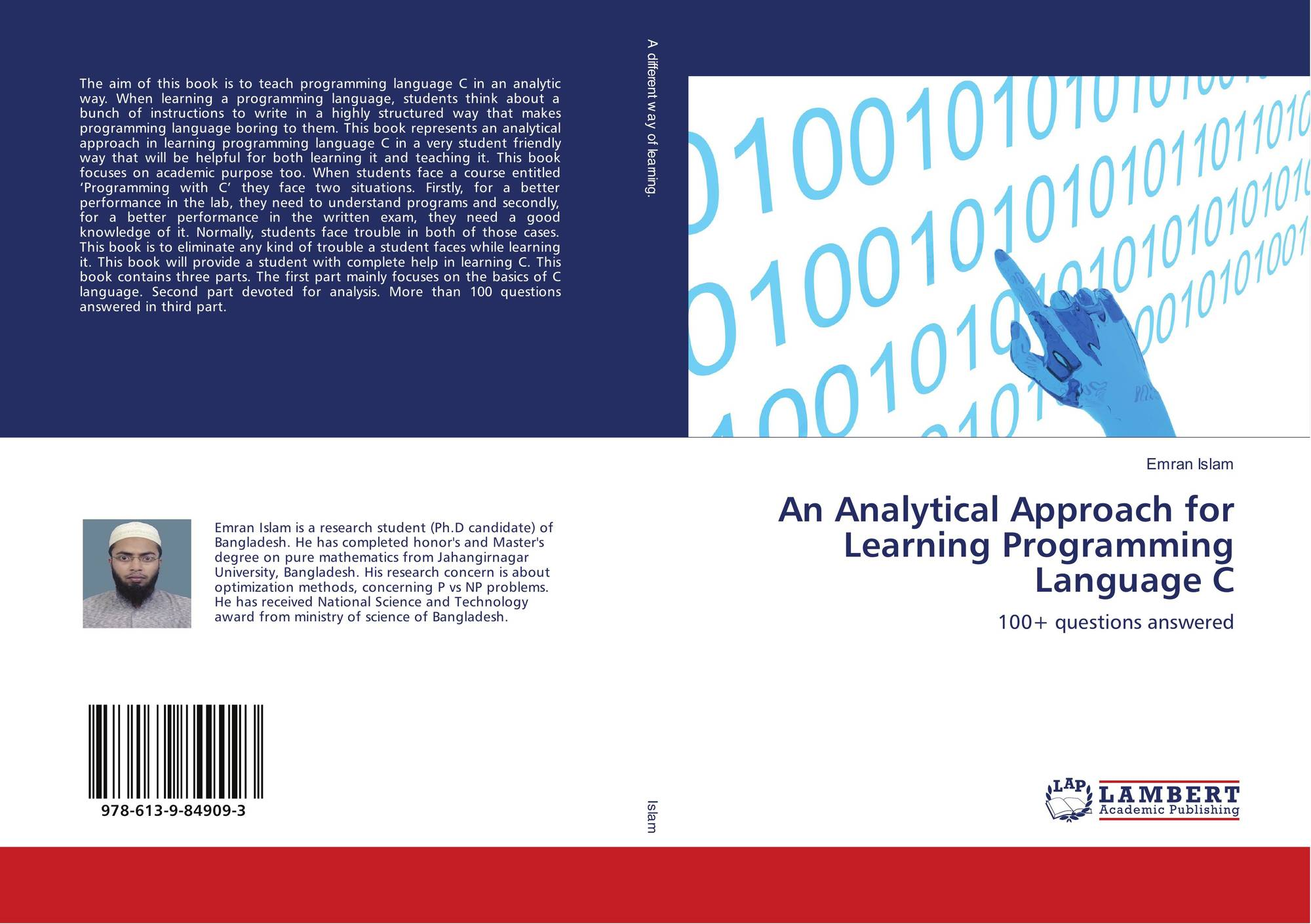 Analytical Learning an analytical approach for learning programming language c