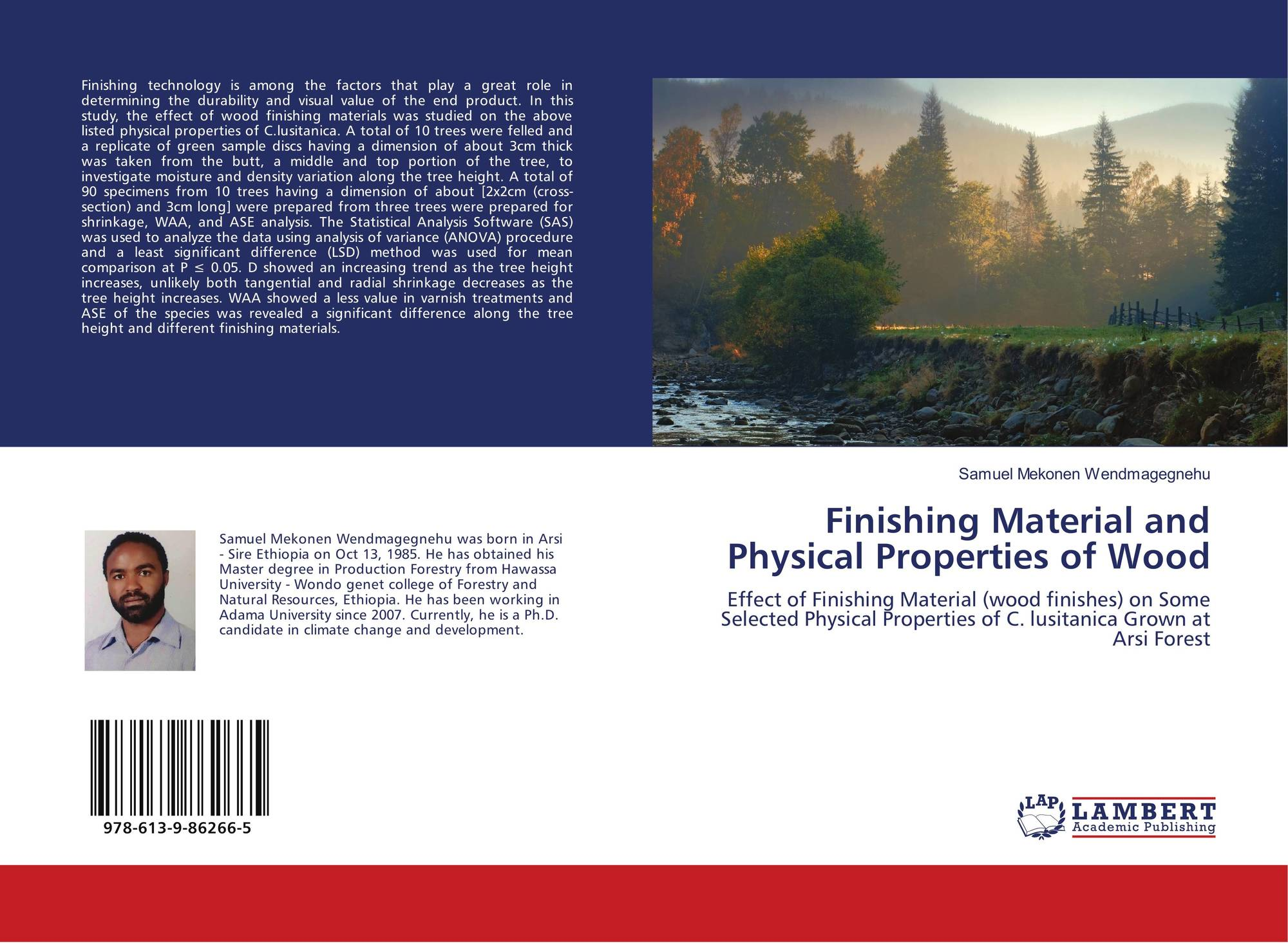 Finishing Material and Physical Properties of Wood, 978-613