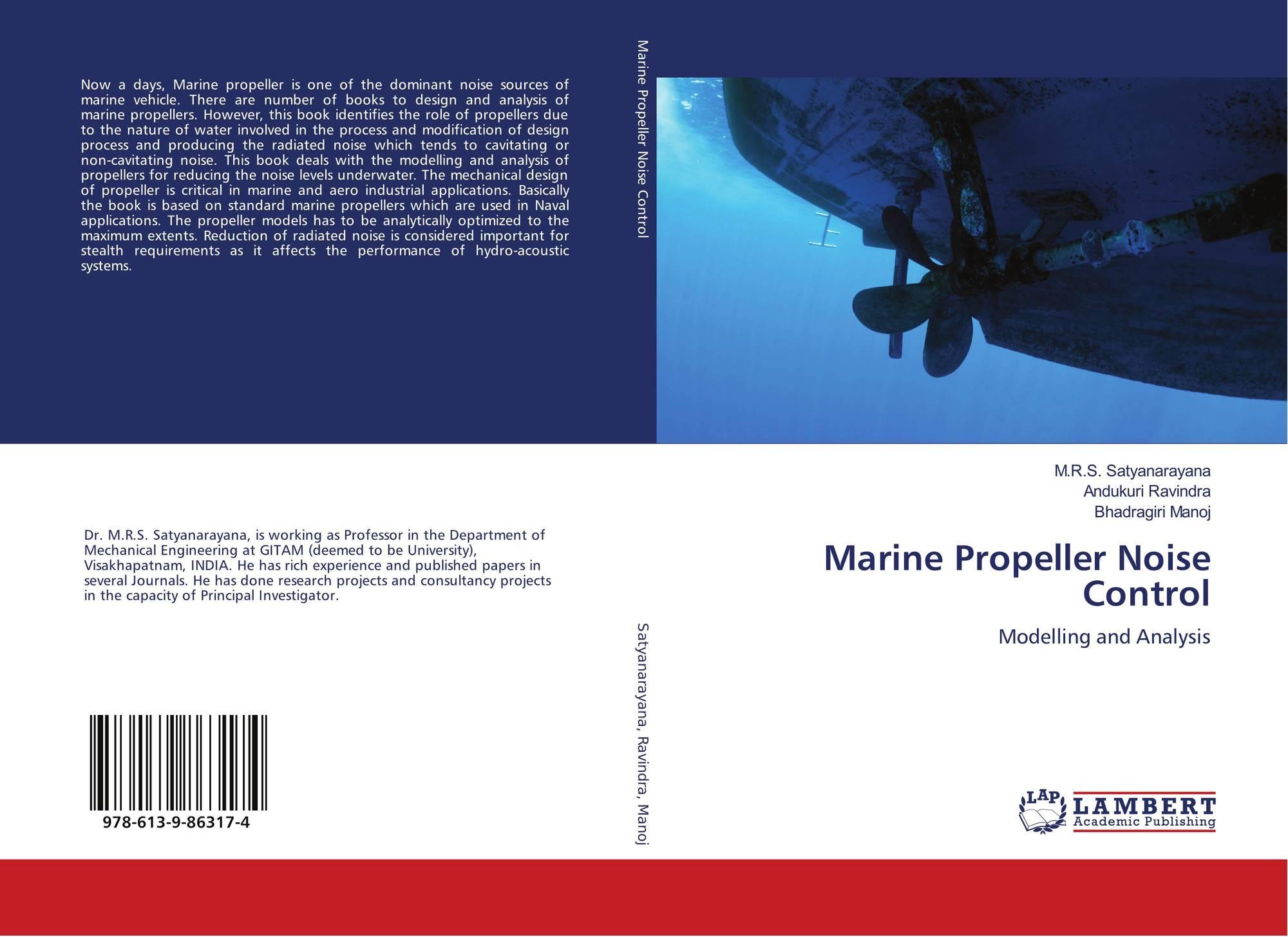 Marine Propeller Noise Control, 978-613-9-86317-4