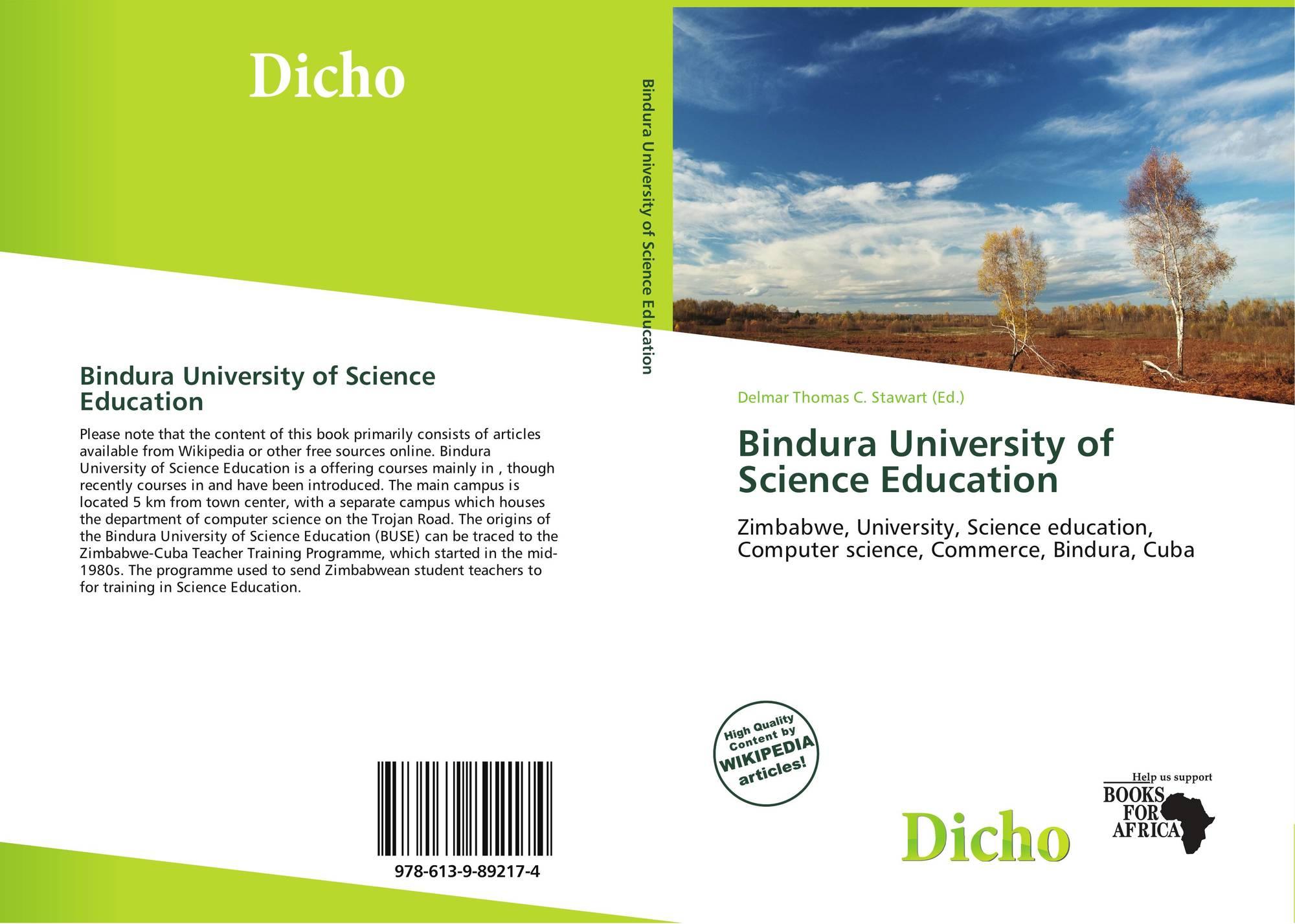 bindura university of science education Bindura university of science education, accountancy, alumnus download curriculum vitae for nelson maseko (last updated august 2014) brief.