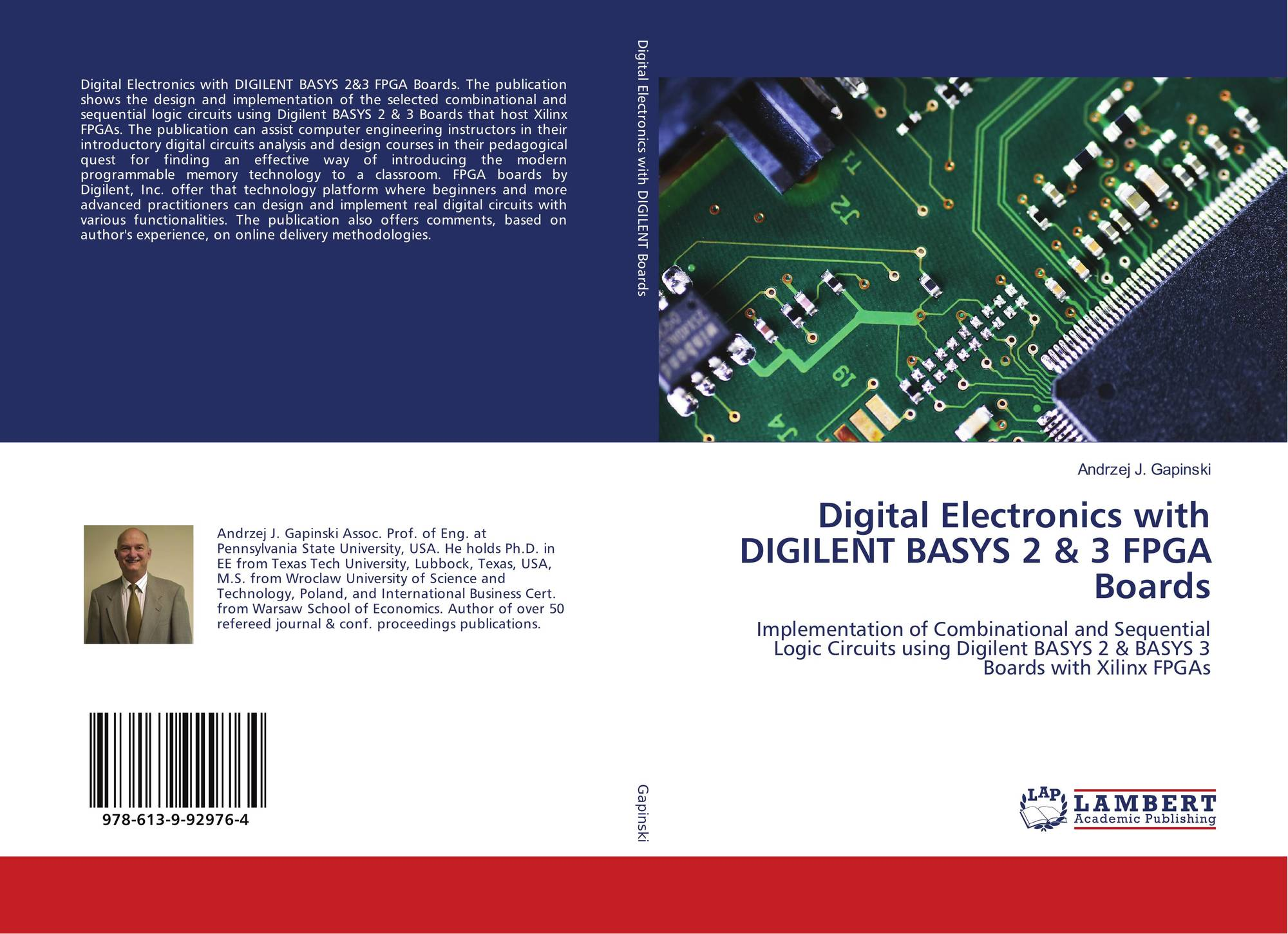Digital Electronics with DIGILENT BASYS 2 & 3 FPGA Boards, 978-613-9