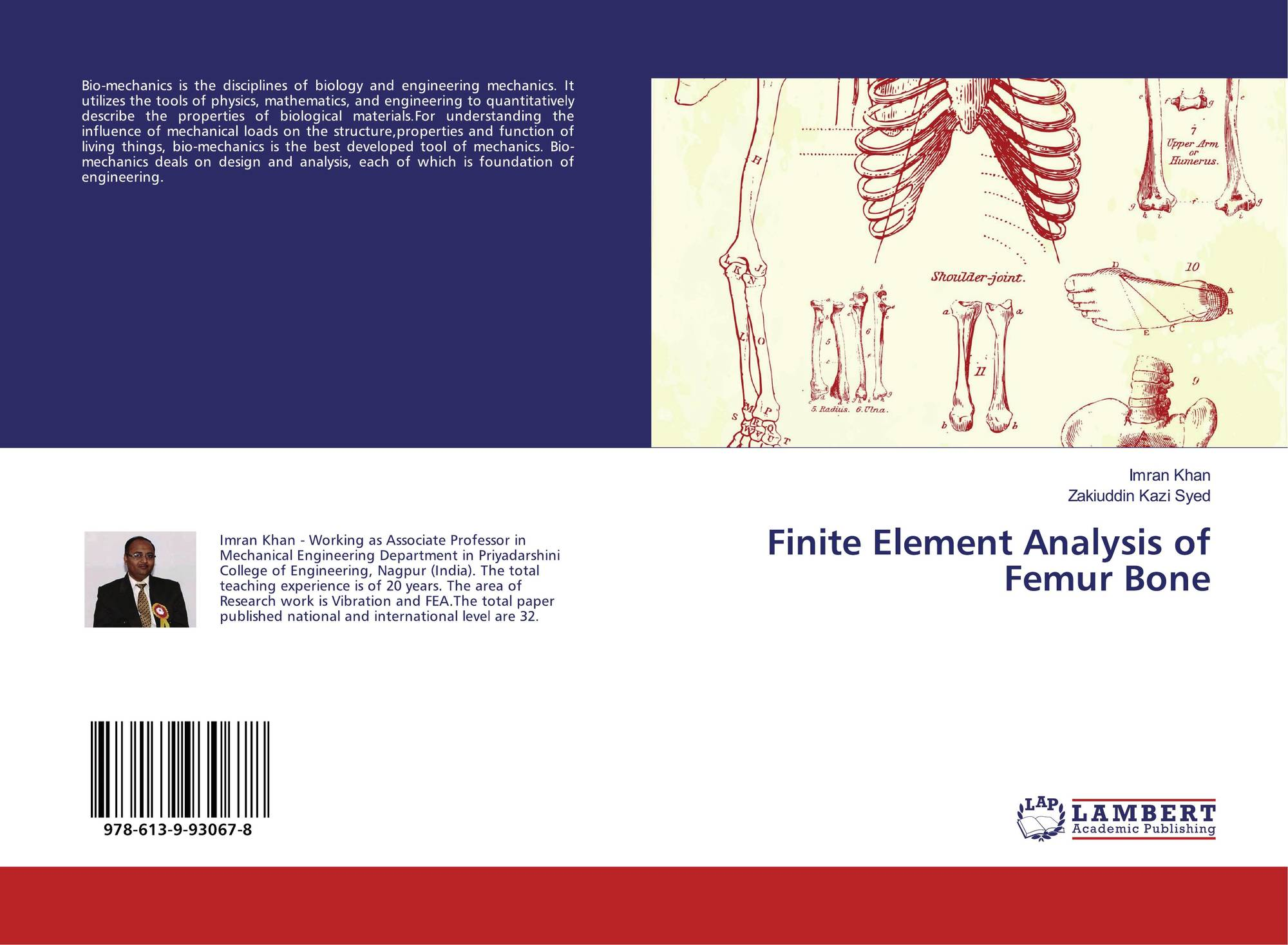 Finite Element Analysis Of Femur Bone 978 613 9 93067 8 6139930677