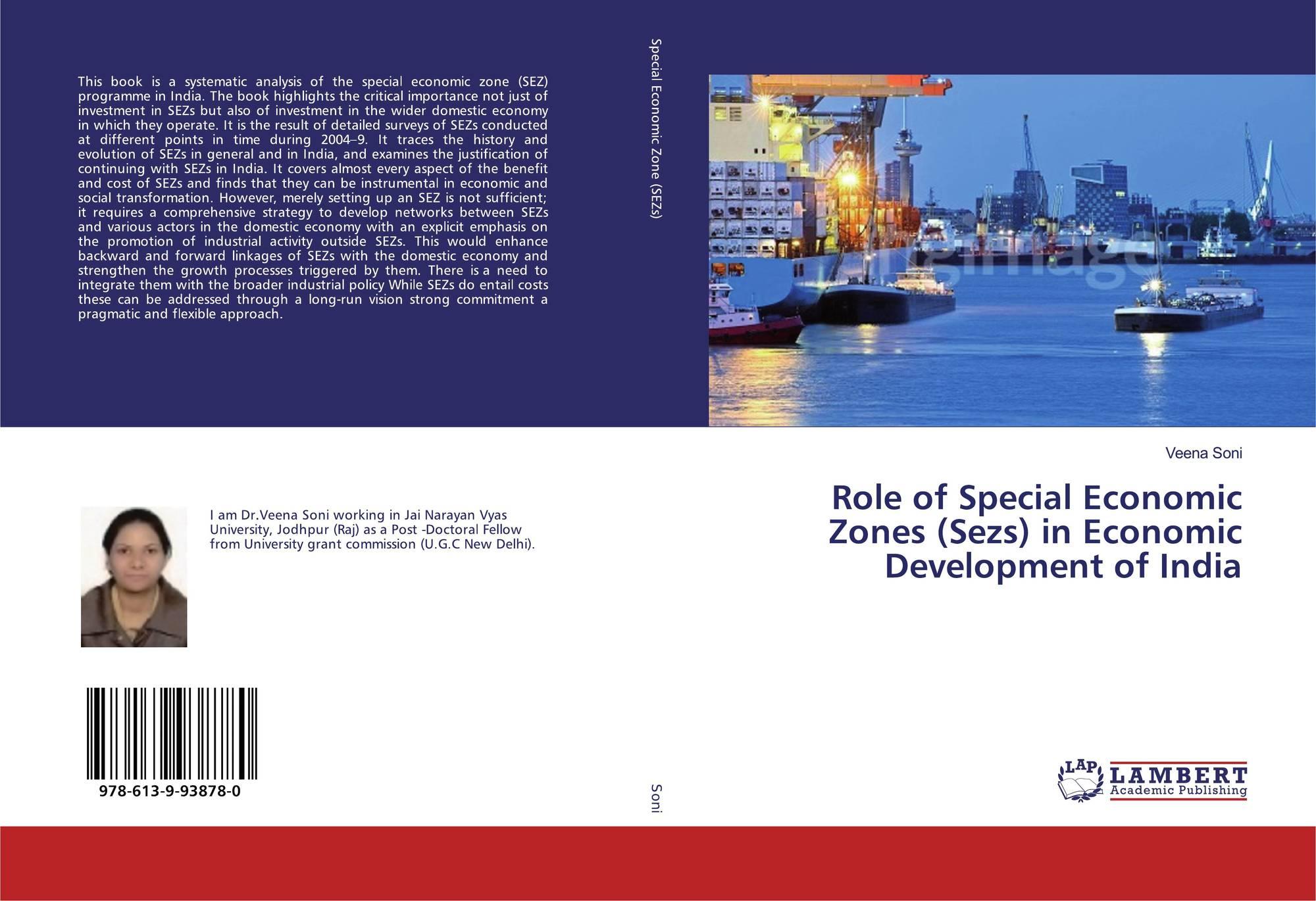 Role of Special Economic Zones (Sezs) in Economic