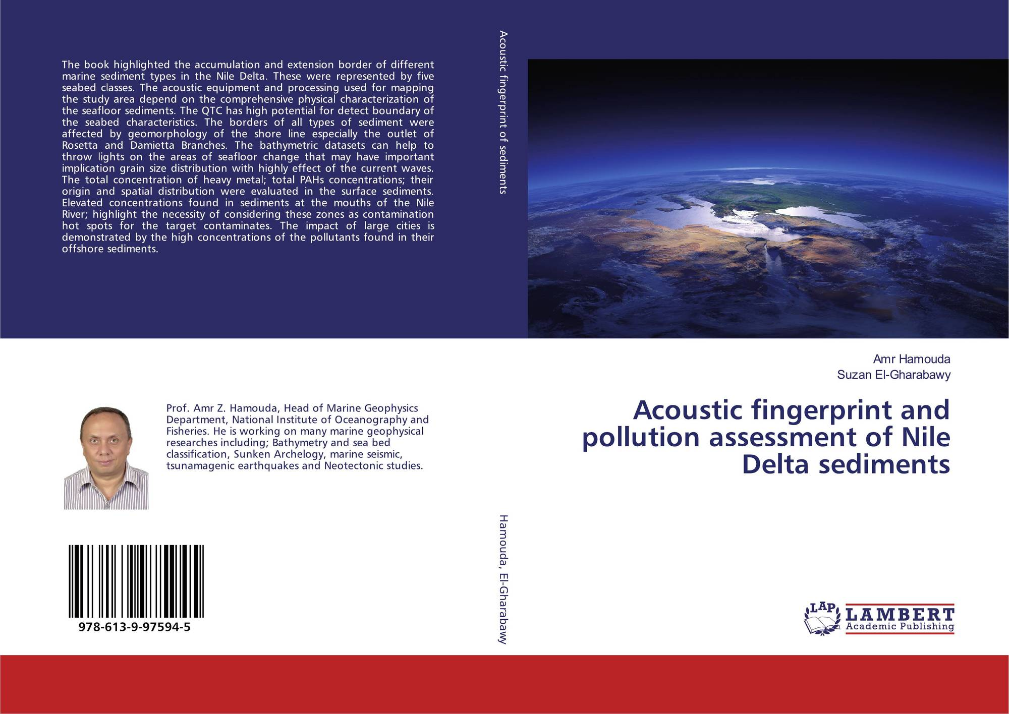 Lap Lambert Academic Publishing 155049 Products Marine Wiring Books Bookcover Of Acoustic Fingerprint And Pollution Assessment Nile Delta Sediments