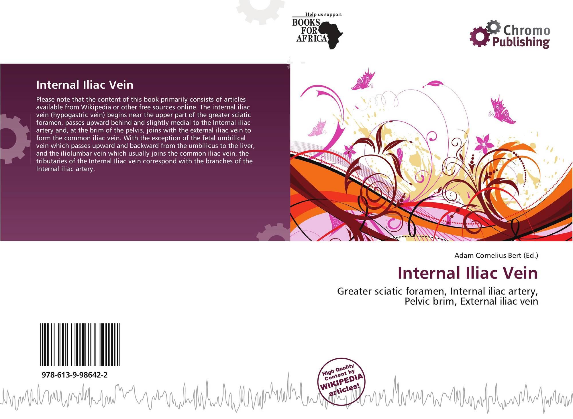 Internal Iliac Vein 978 613 9 98642 2 6139986427 9786139986422