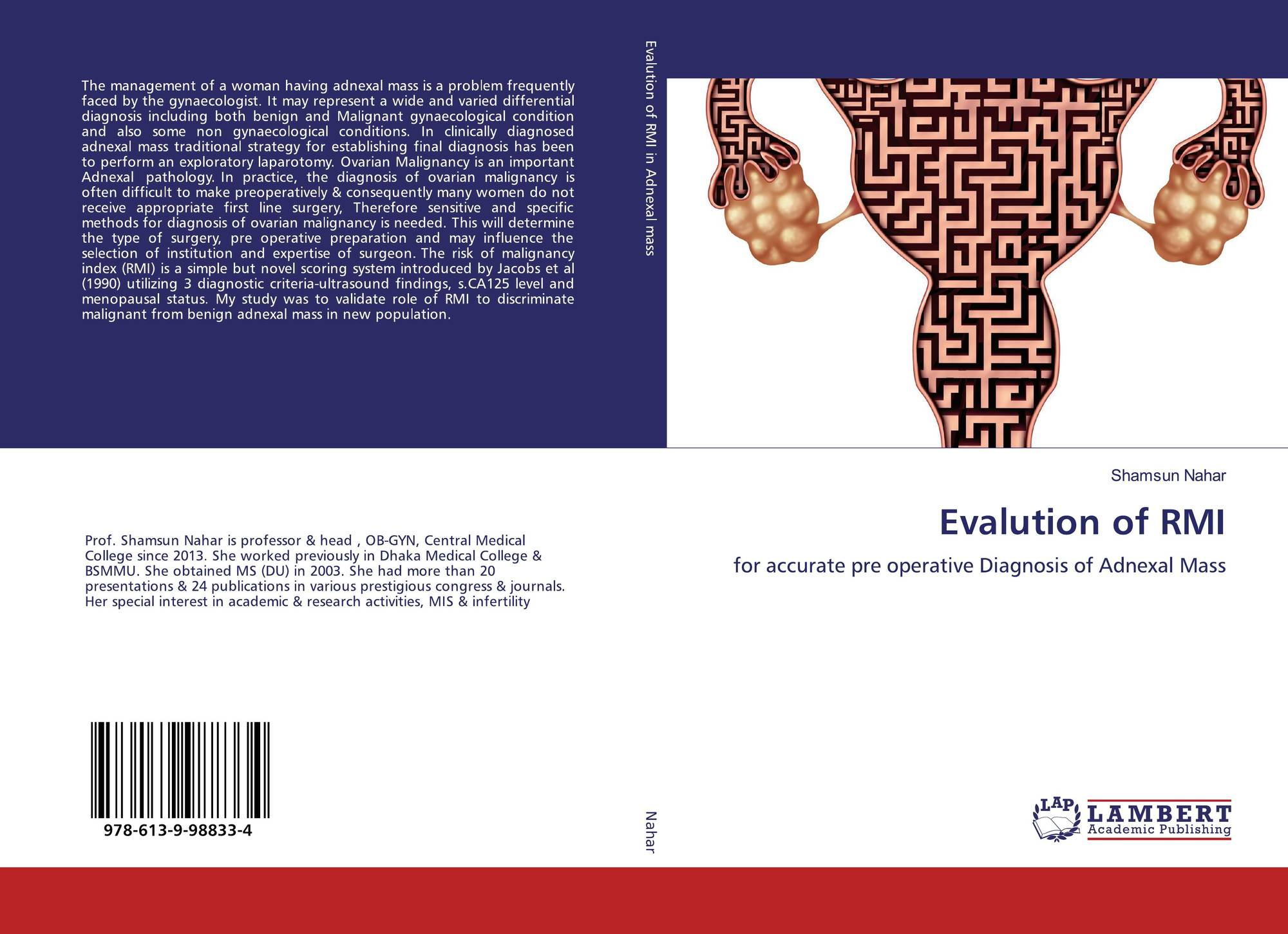 Bookcover Of Evalution RMI