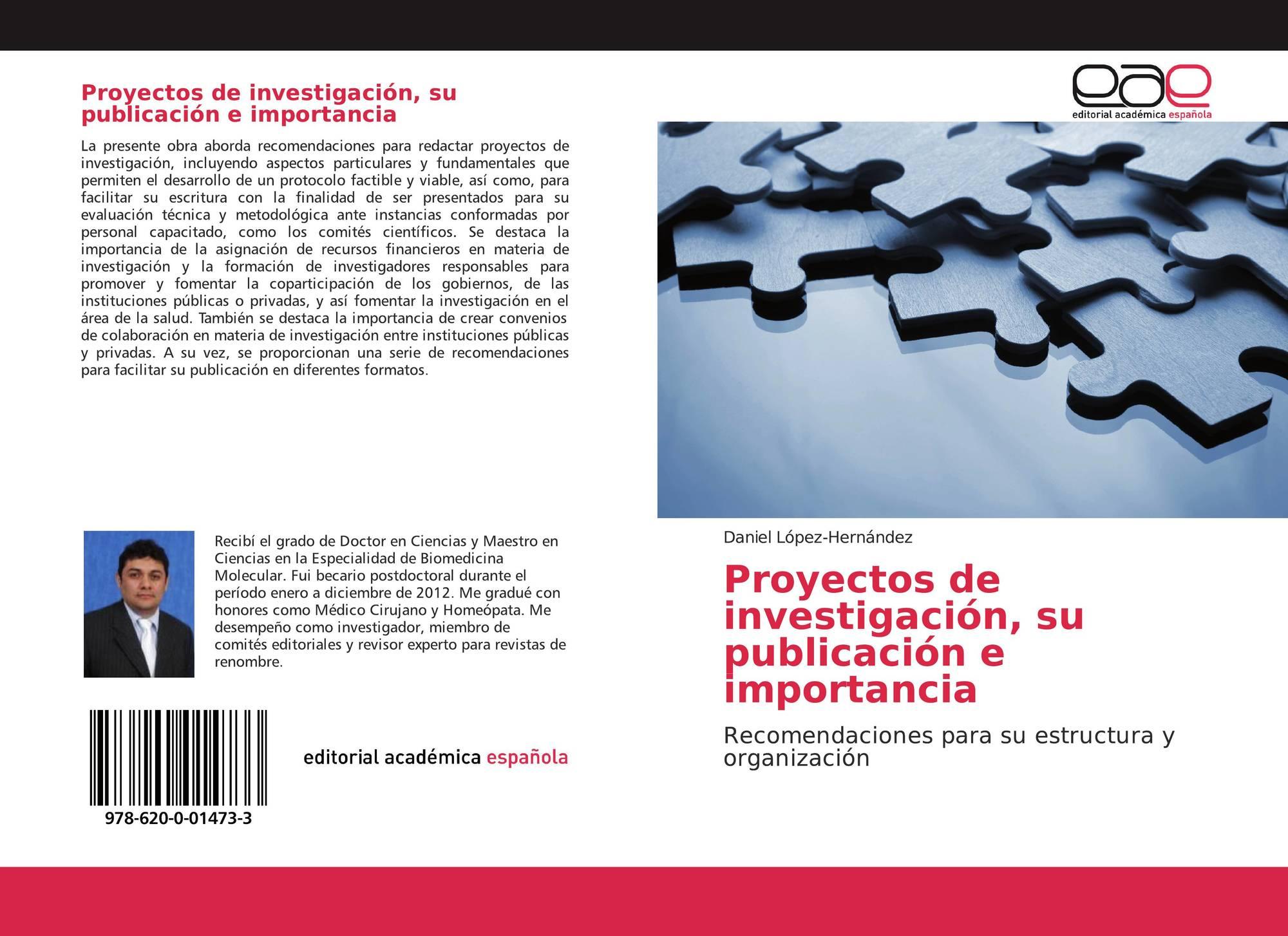 Proyectos De Investigación Su Publicación E Importancia