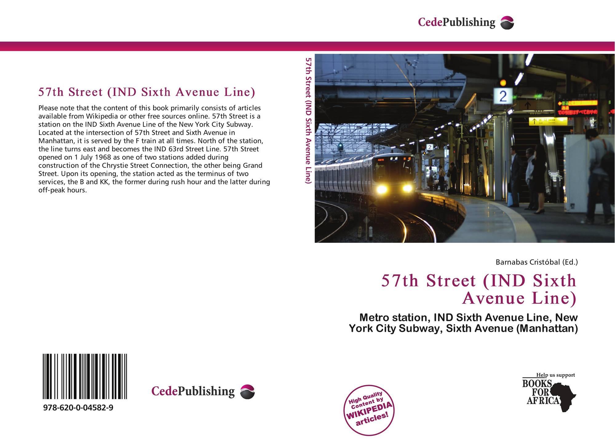 57th Street IND Sixth Avenue Line 978 620 0 04582 9 6200045828