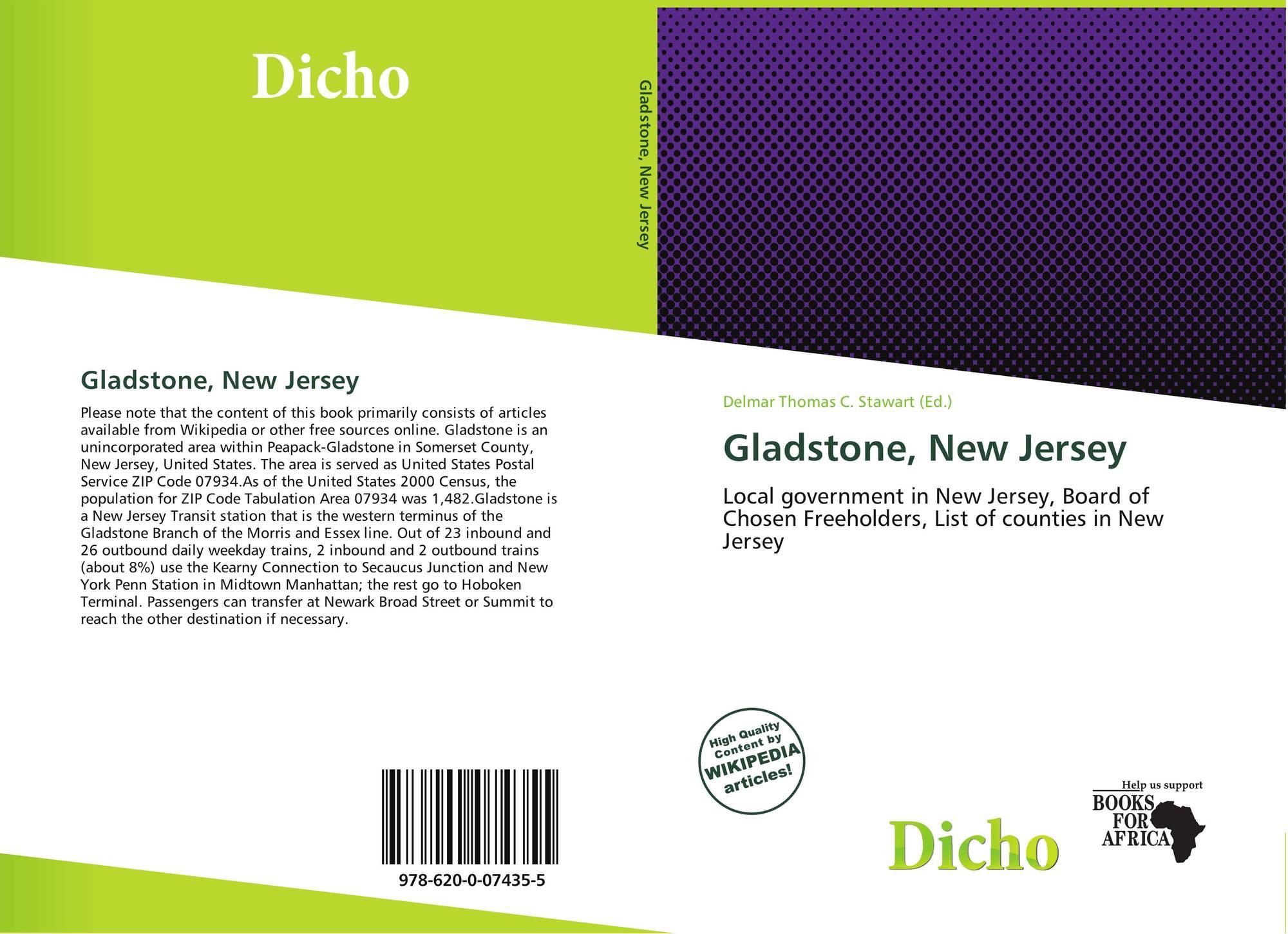 New mexico union county gladstone - Bookcover Of Gladstone New Jersey