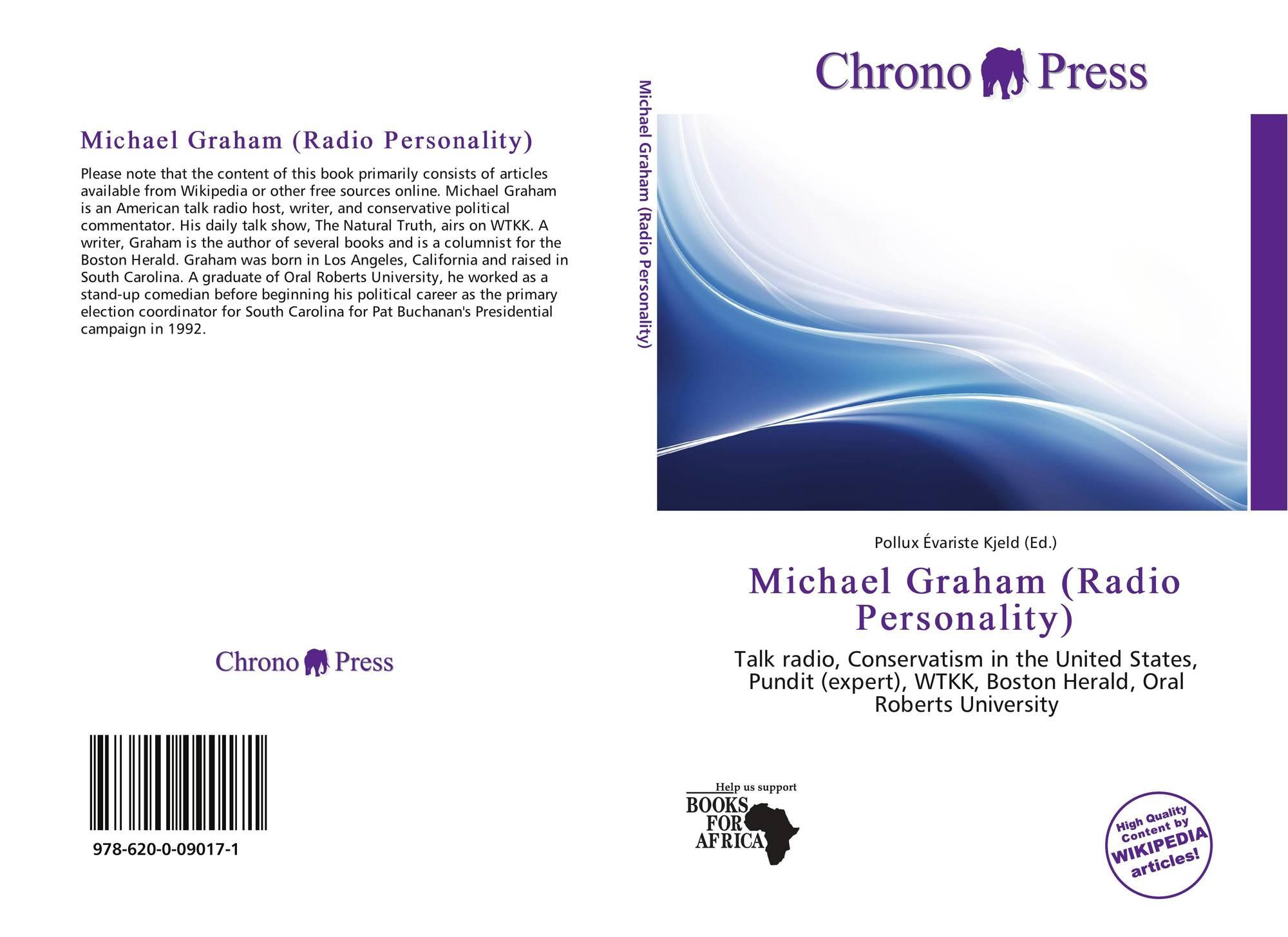 Bookcover Of Michael Graham Radio Personality