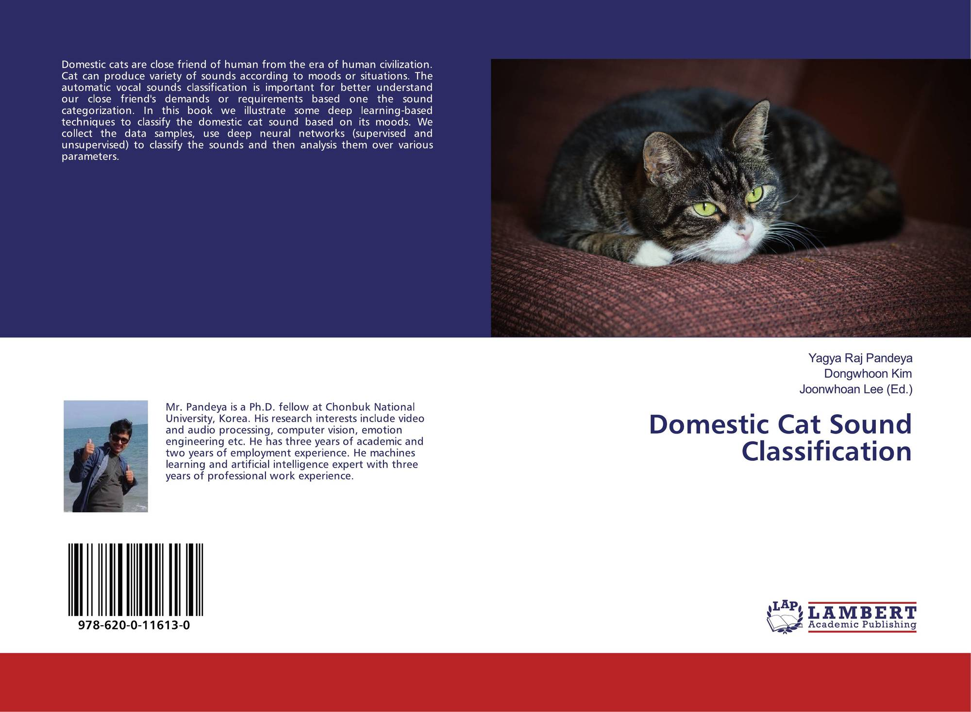 Domestic Cat Sound Classification, 978-620-0-11613-0