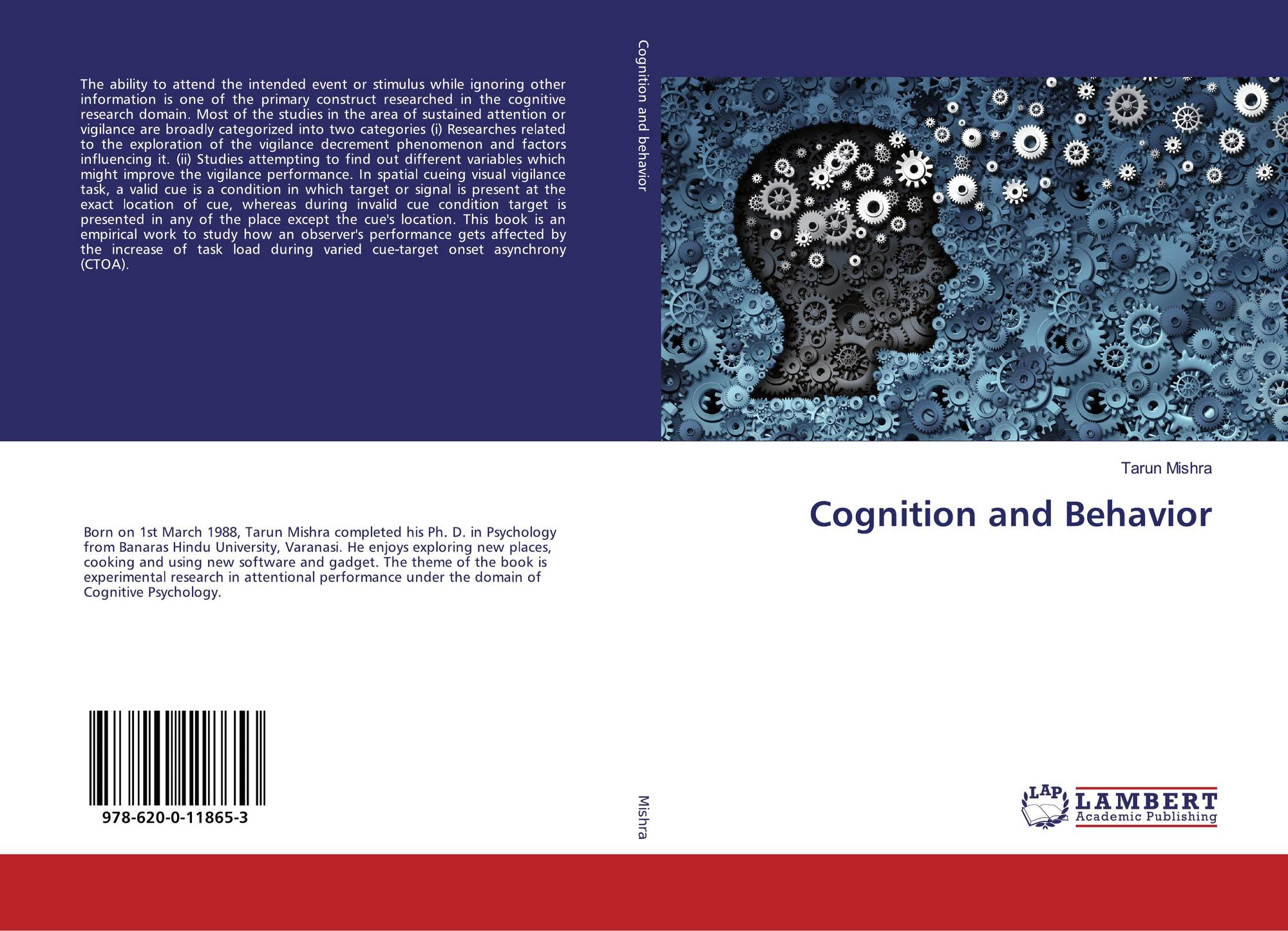 Cognition and Behavior, 978-620-0-11865-3, 6200118655 ,9786200118653