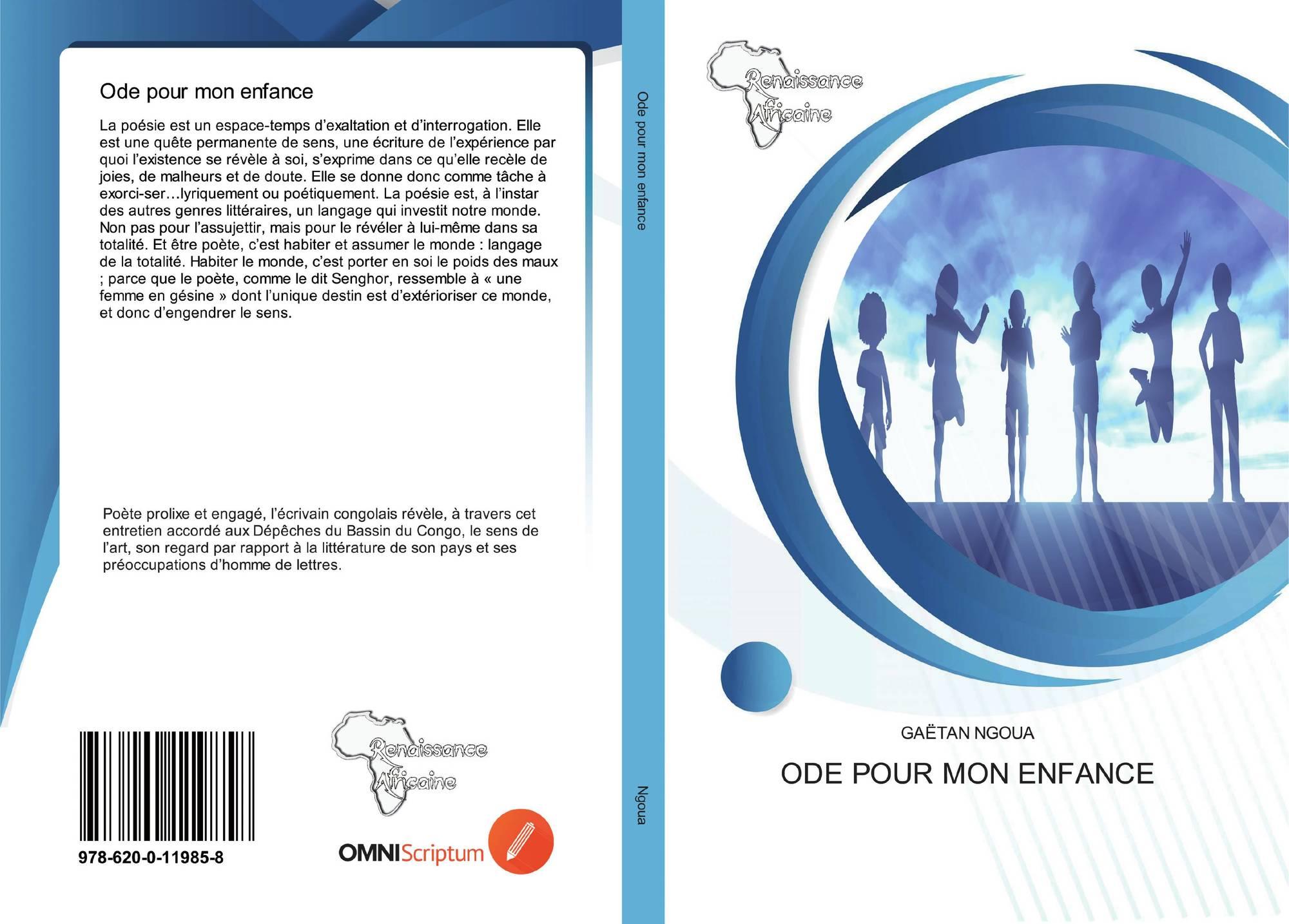 Ode Pour Mon Enfance 978 620 0 11985 8 6200119856
