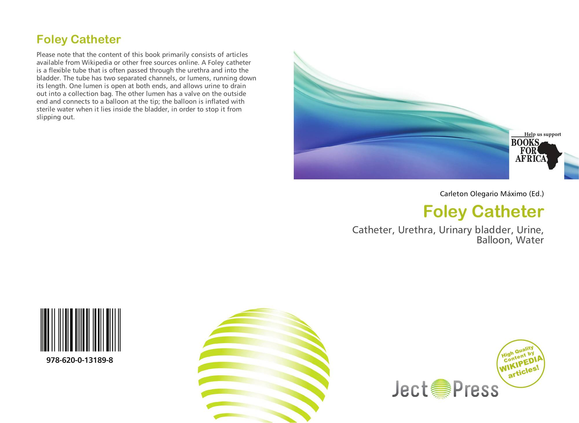 Foley Catheter, 978-620-0-13189-8, 6200131899 ,9786200131898