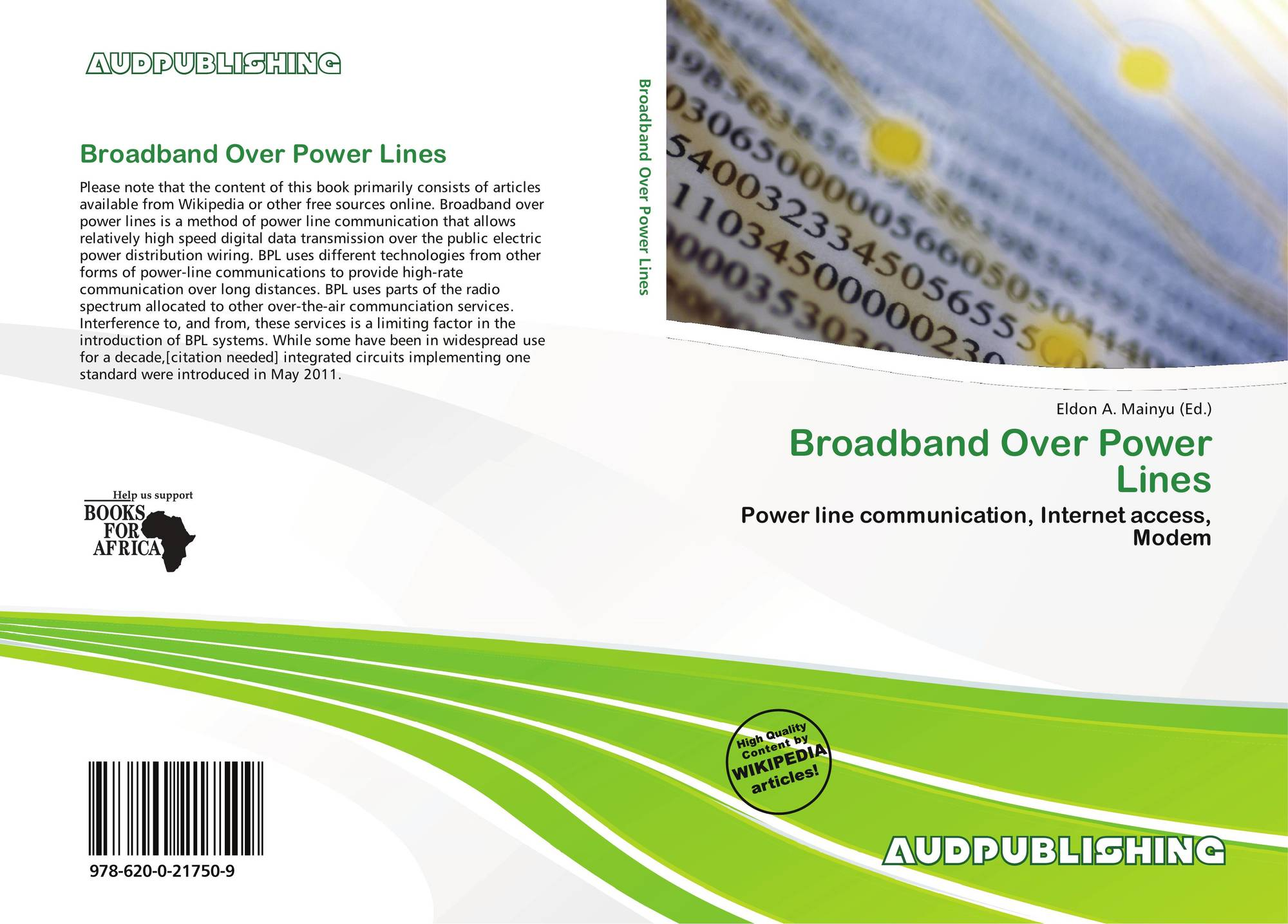 Broadband Over Power Lines 978 620 0 21750 9 6200217505 9786200217509 Powerline Modem