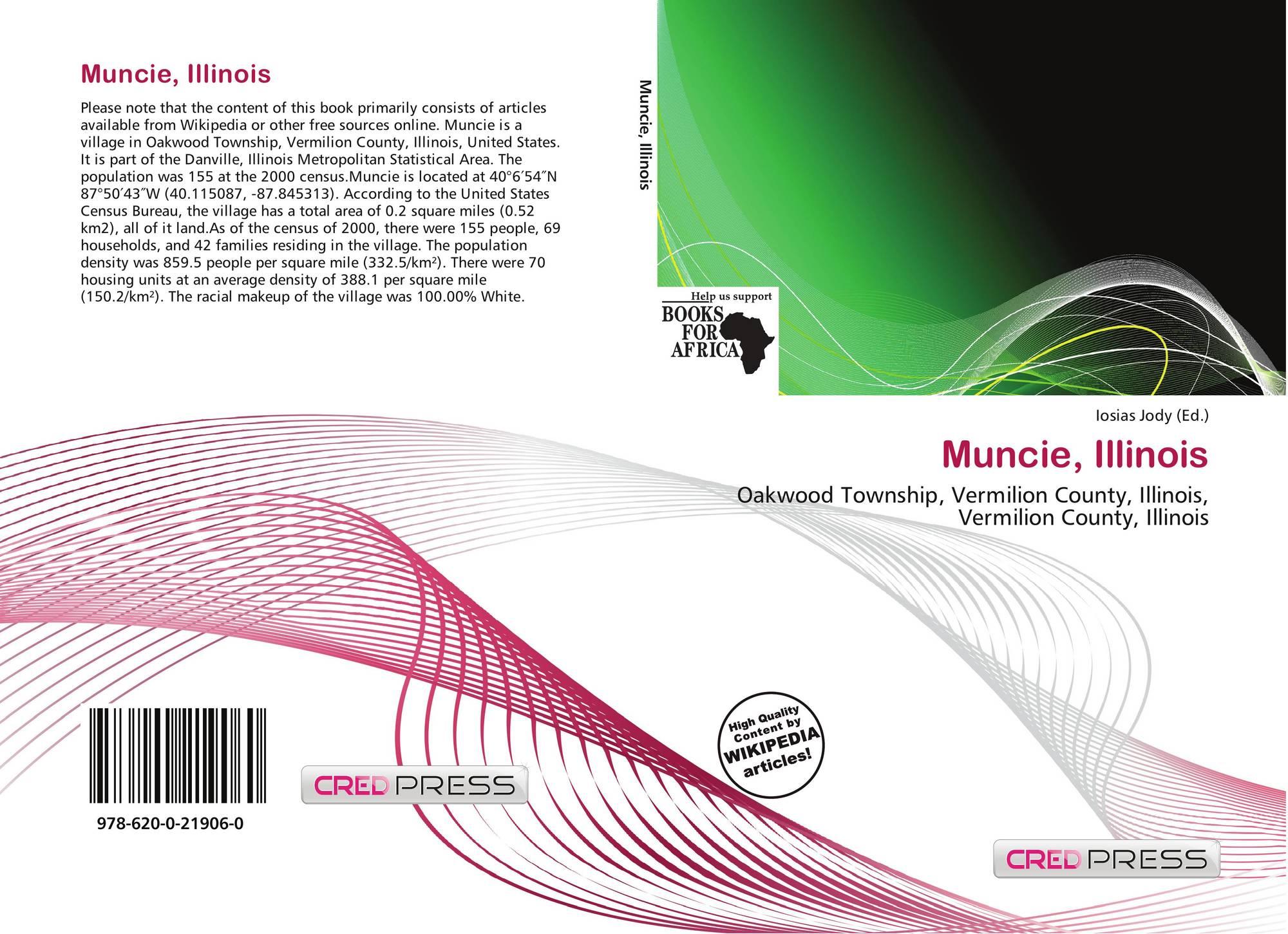 Illinois vermilion county muncie - Bookcover Of Muncie Illinois