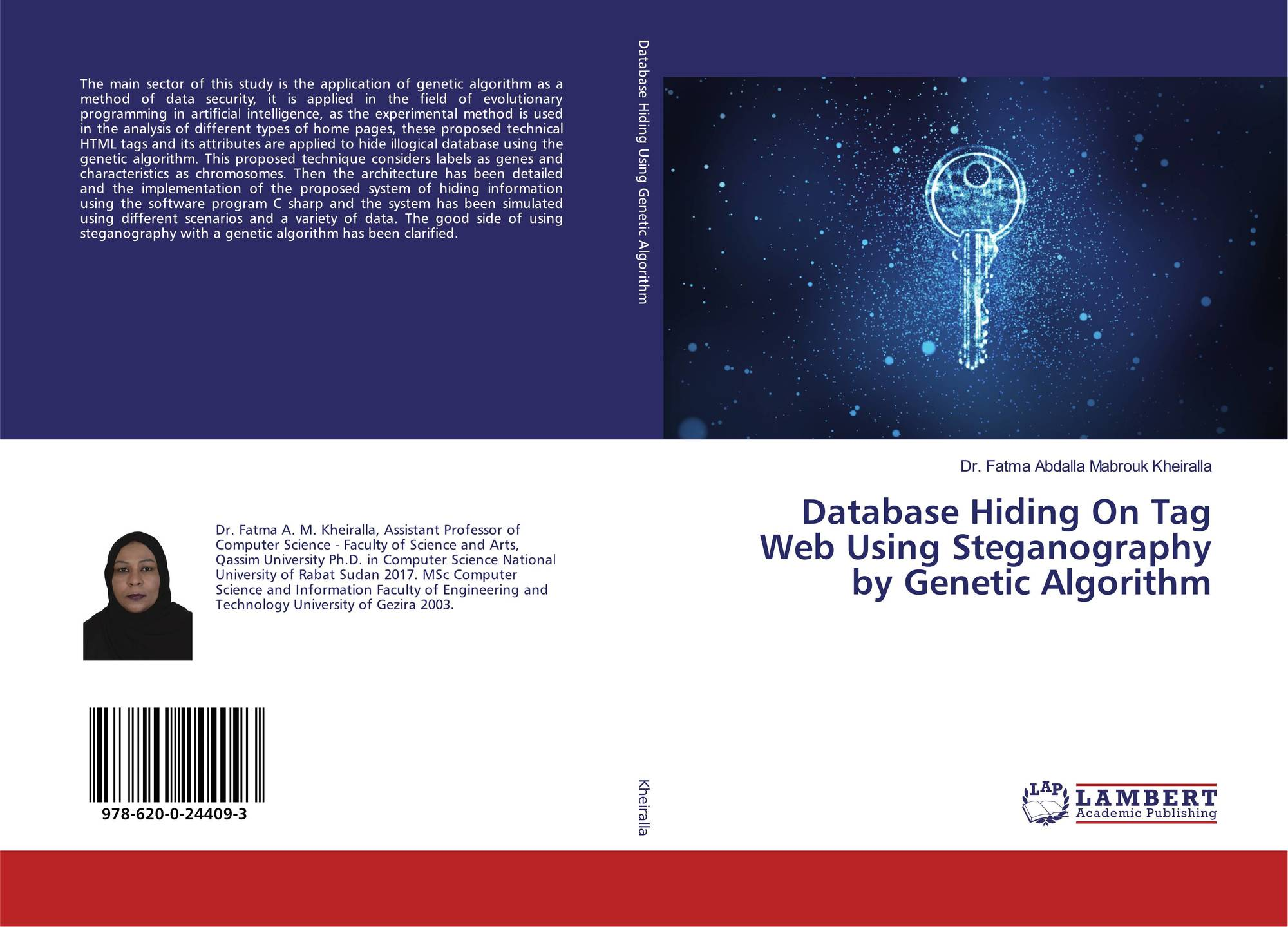 Database Hiding On Tag Web Using Steganography by Genetic