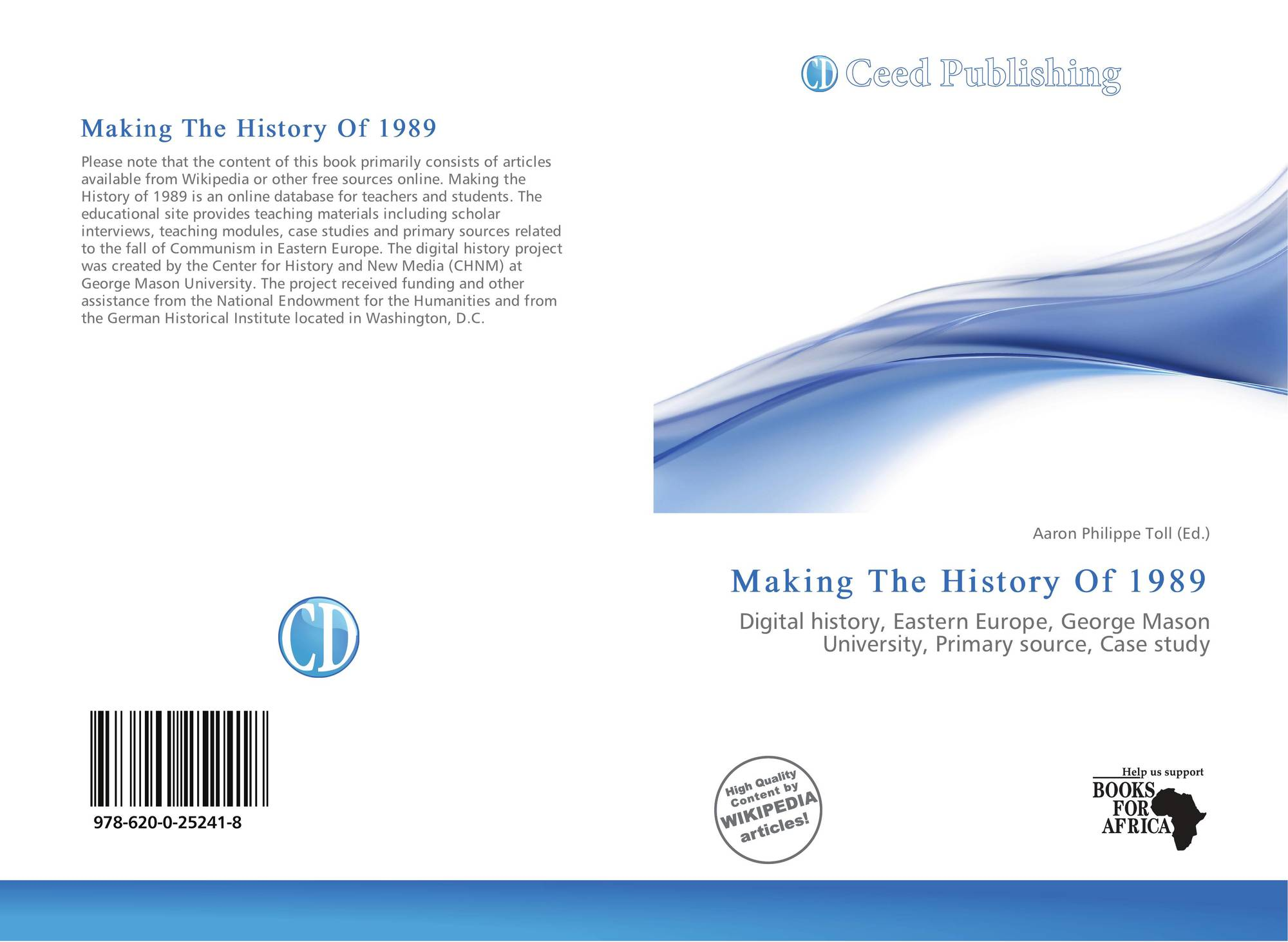Bookcover of Making The History Of 1989