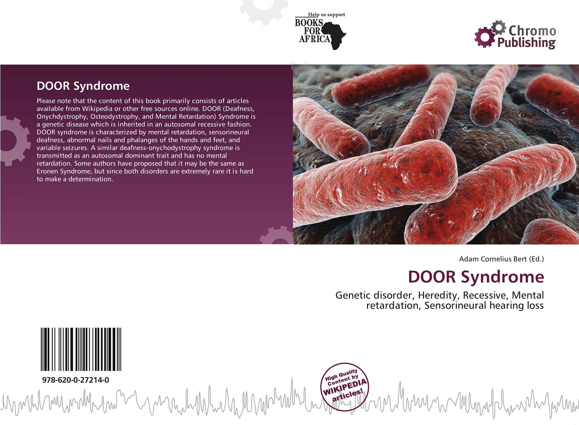 Bookcover of DOOR Syndrome  sc 1 st  MoreBooks! & DOOR Syndrome 978-620-0-27214-0 620027214X 9786200272140