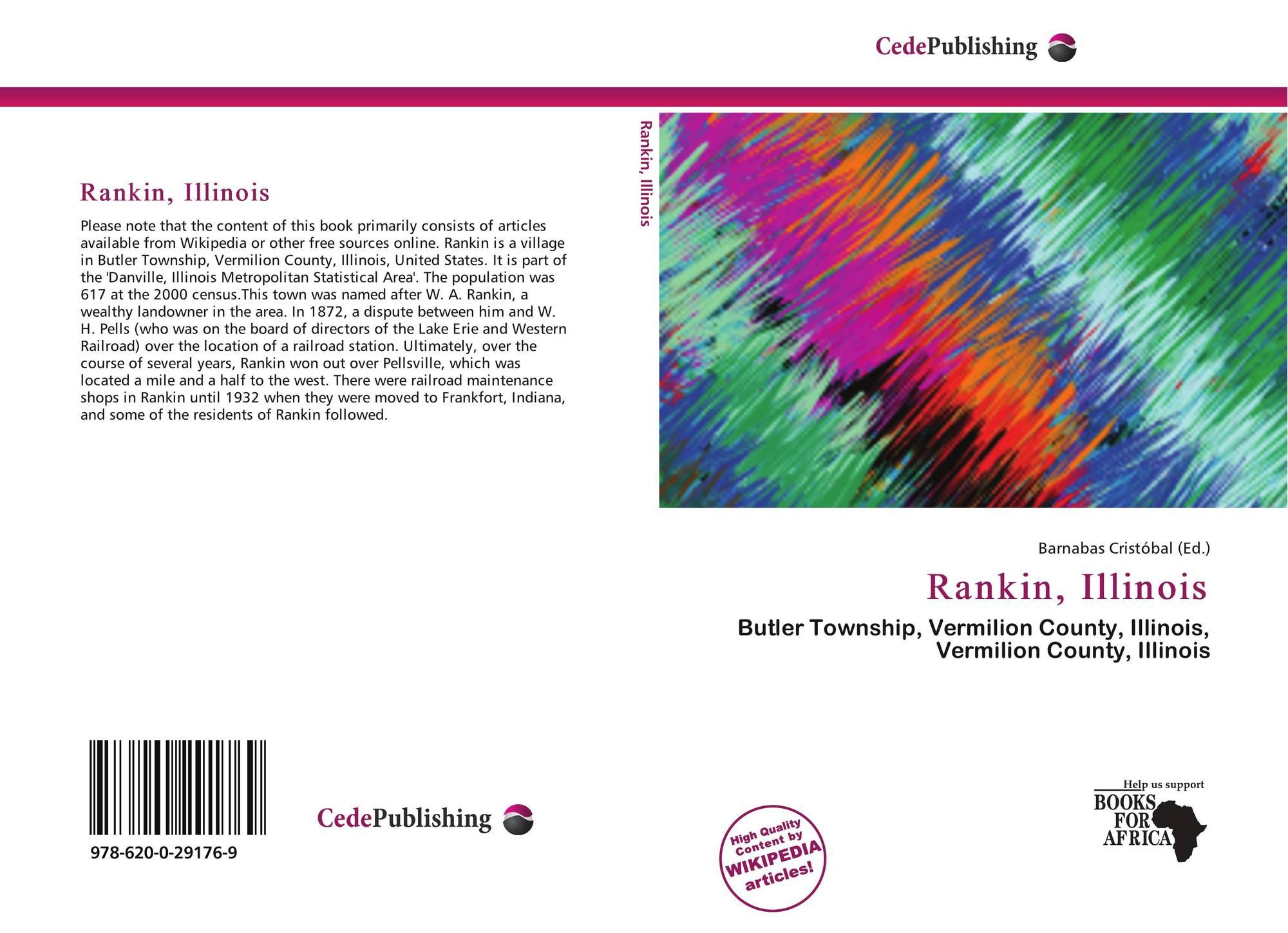 Illinois vermilion county muncie - Bookcover Of Rankin Illinois