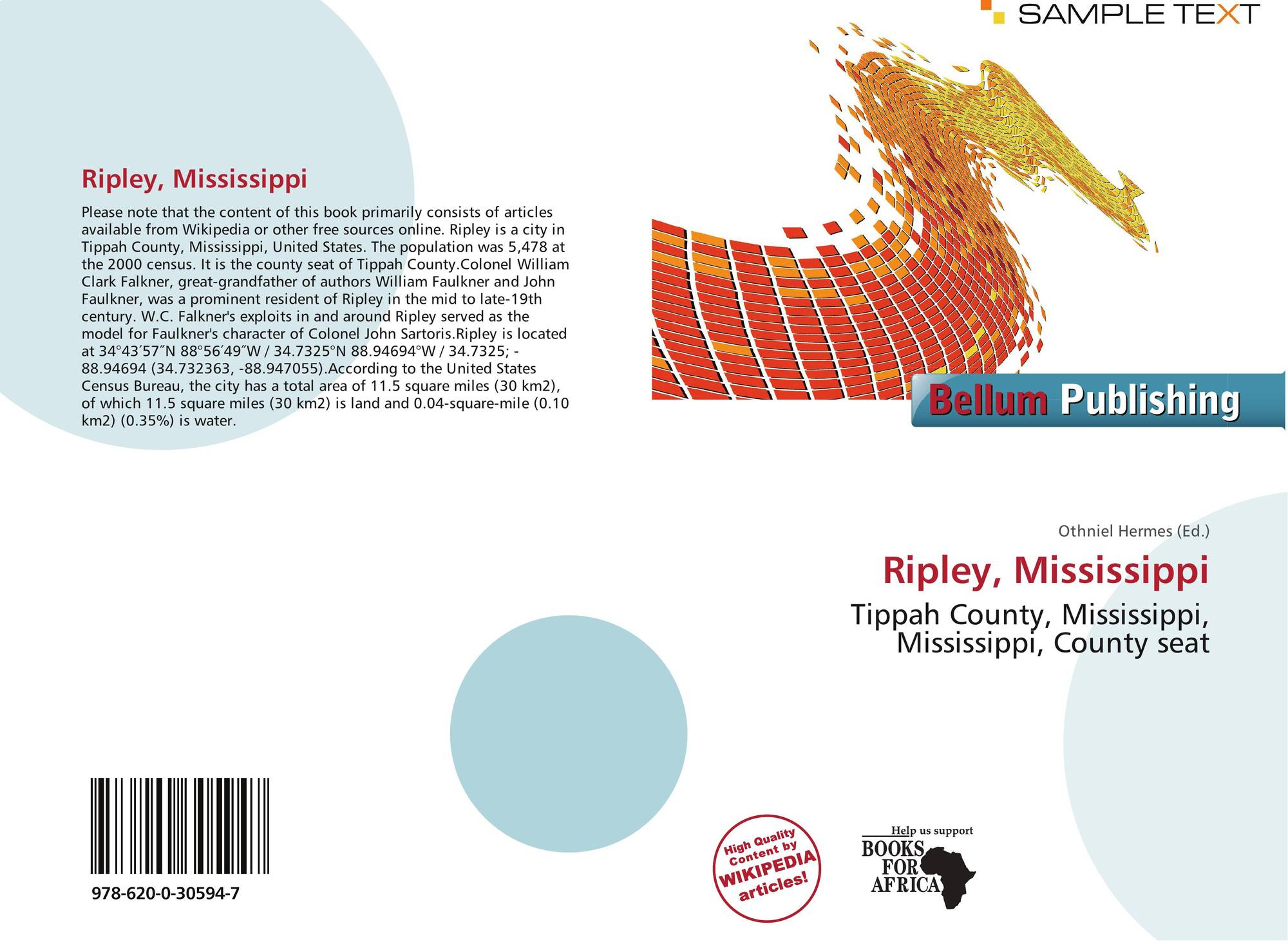 Mississippi tippah county ripley - Bookcover Of Ripley Mississippi
