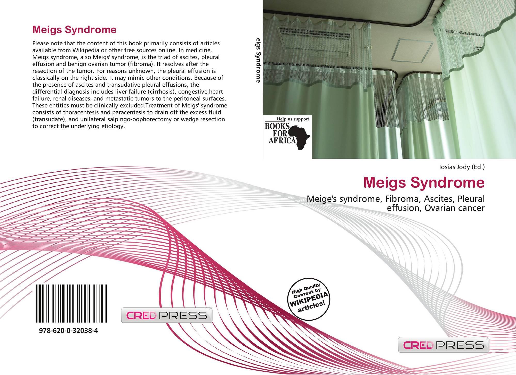 Meigs Syndrome 978 620 0 32038 4 6200320381 9786200320384