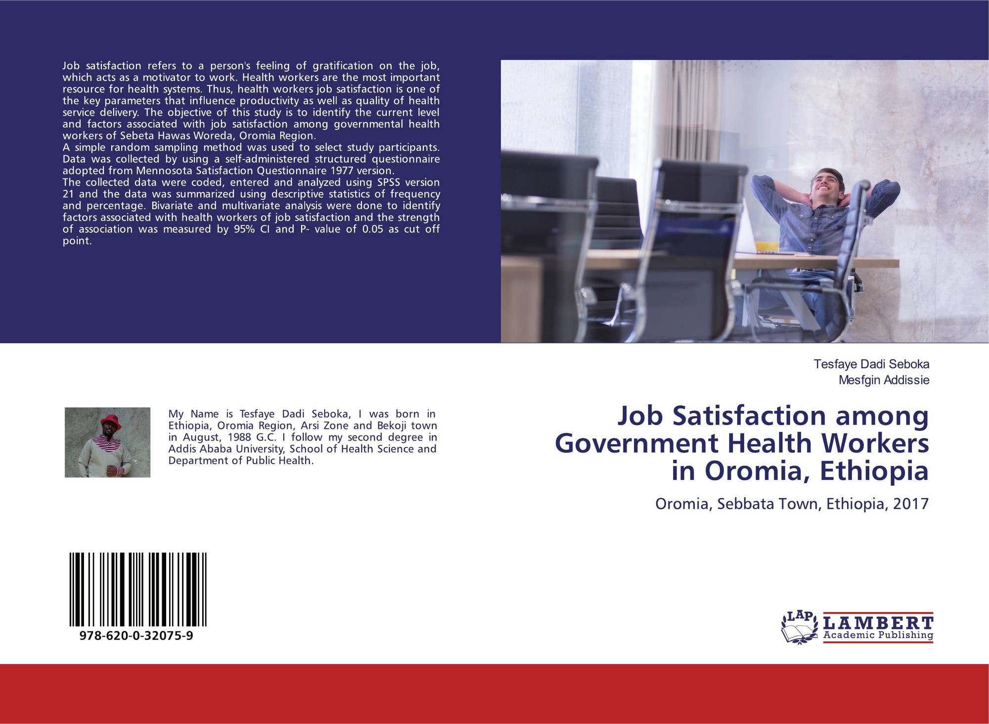 Job Satisfaction among Government Health Workers in Oromia
