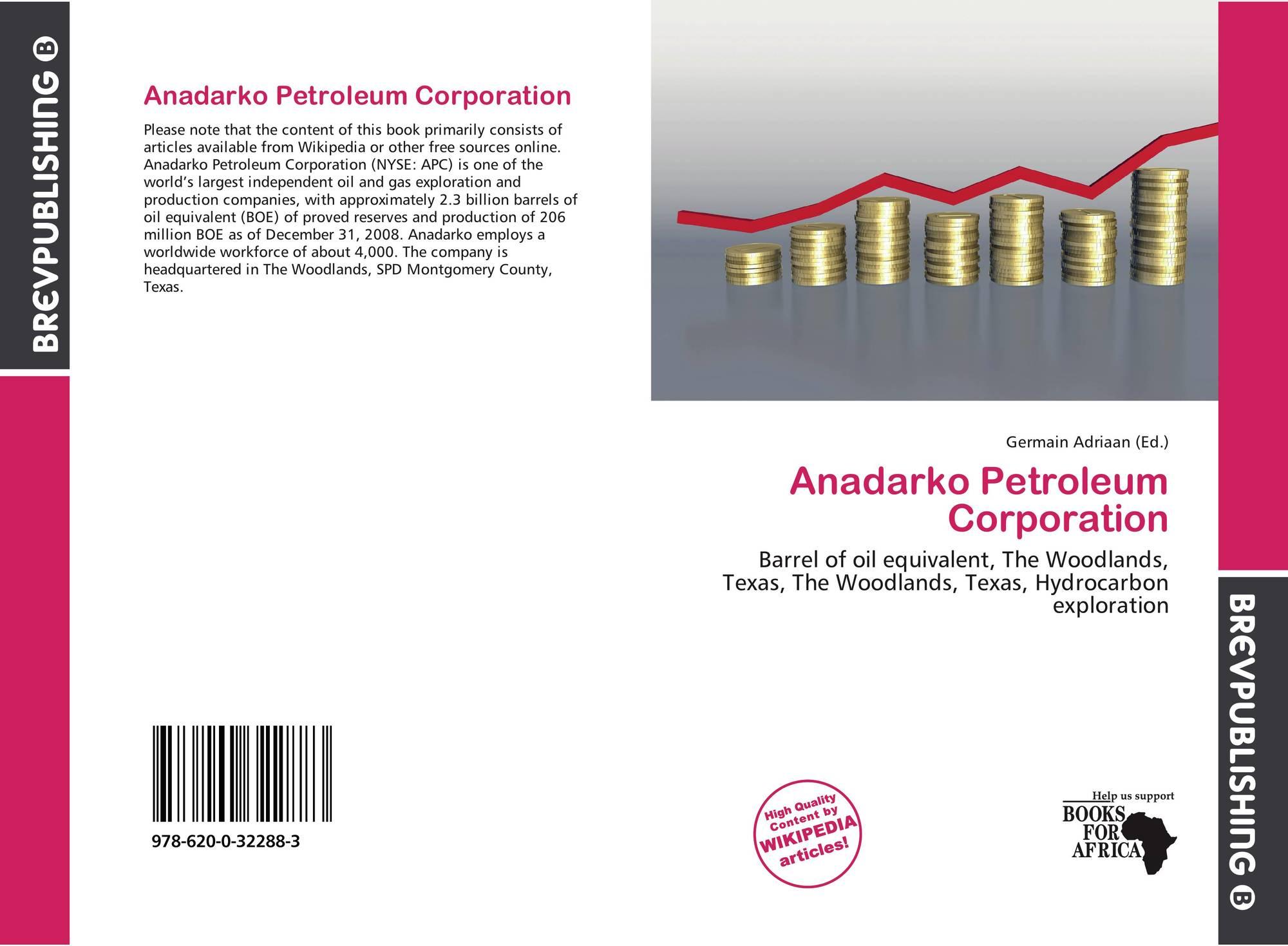 Anadarko Petroleum Corporation, 978-620-0-32288-3