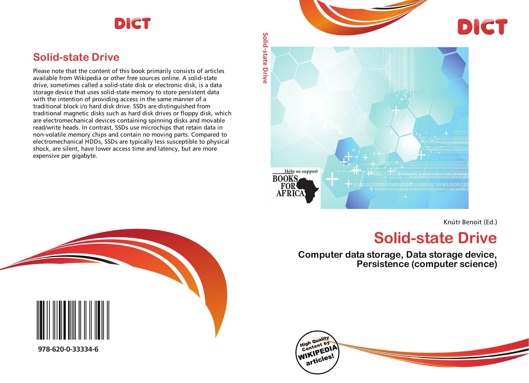 Solid-state Drive, 978-620-0-33334-6, 6200333343 ,9786200333346