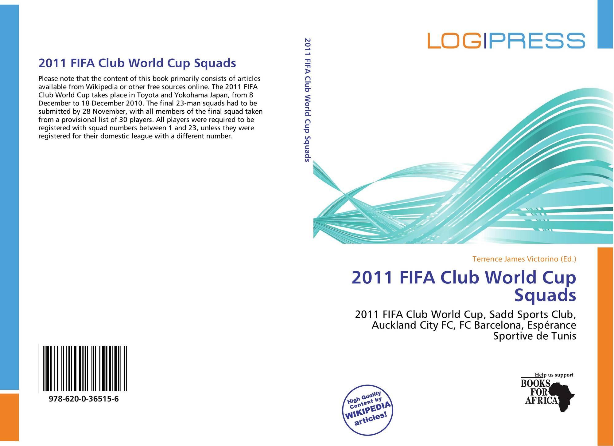 2011 FIFA Club World Cup Squads, 978-620-0-36515-6