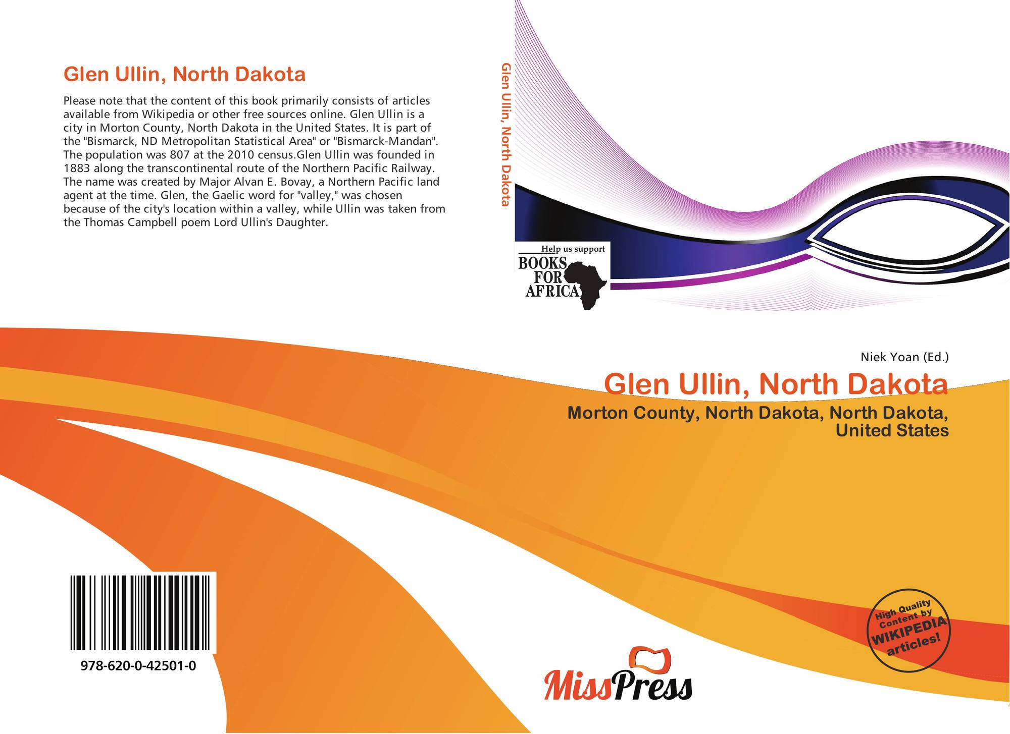 North dakota morton county glen ullin - Bookcover Of Glen Ullin North Dakota