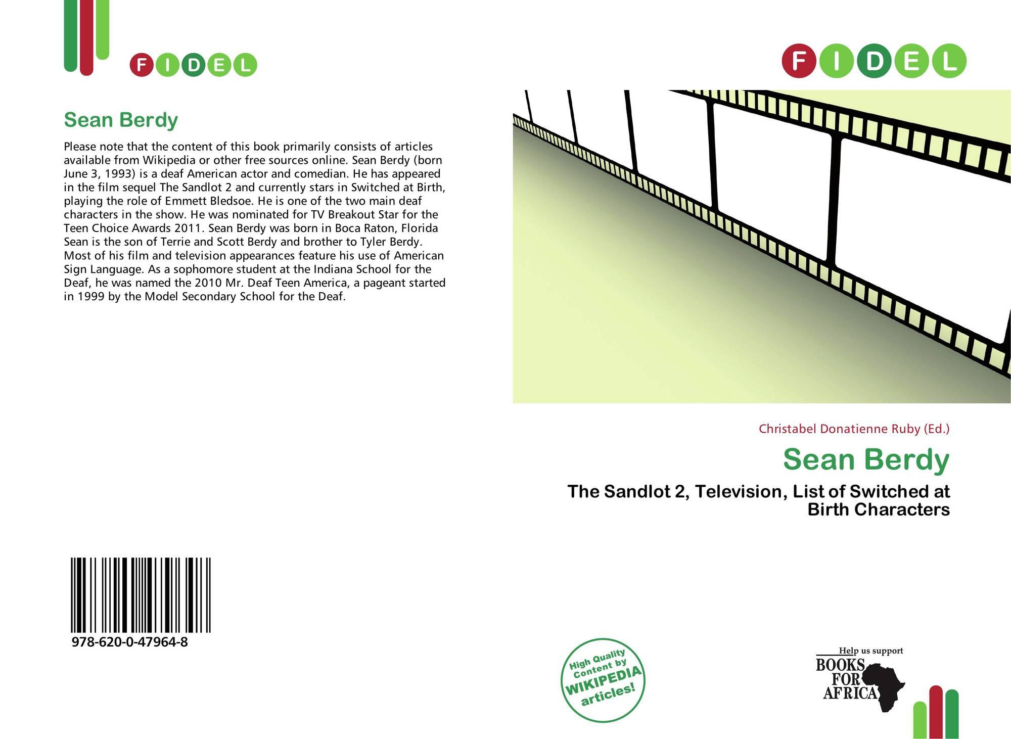 Sean Berdy, 978-620-0-47964-8, 620047964X ,9786200479648