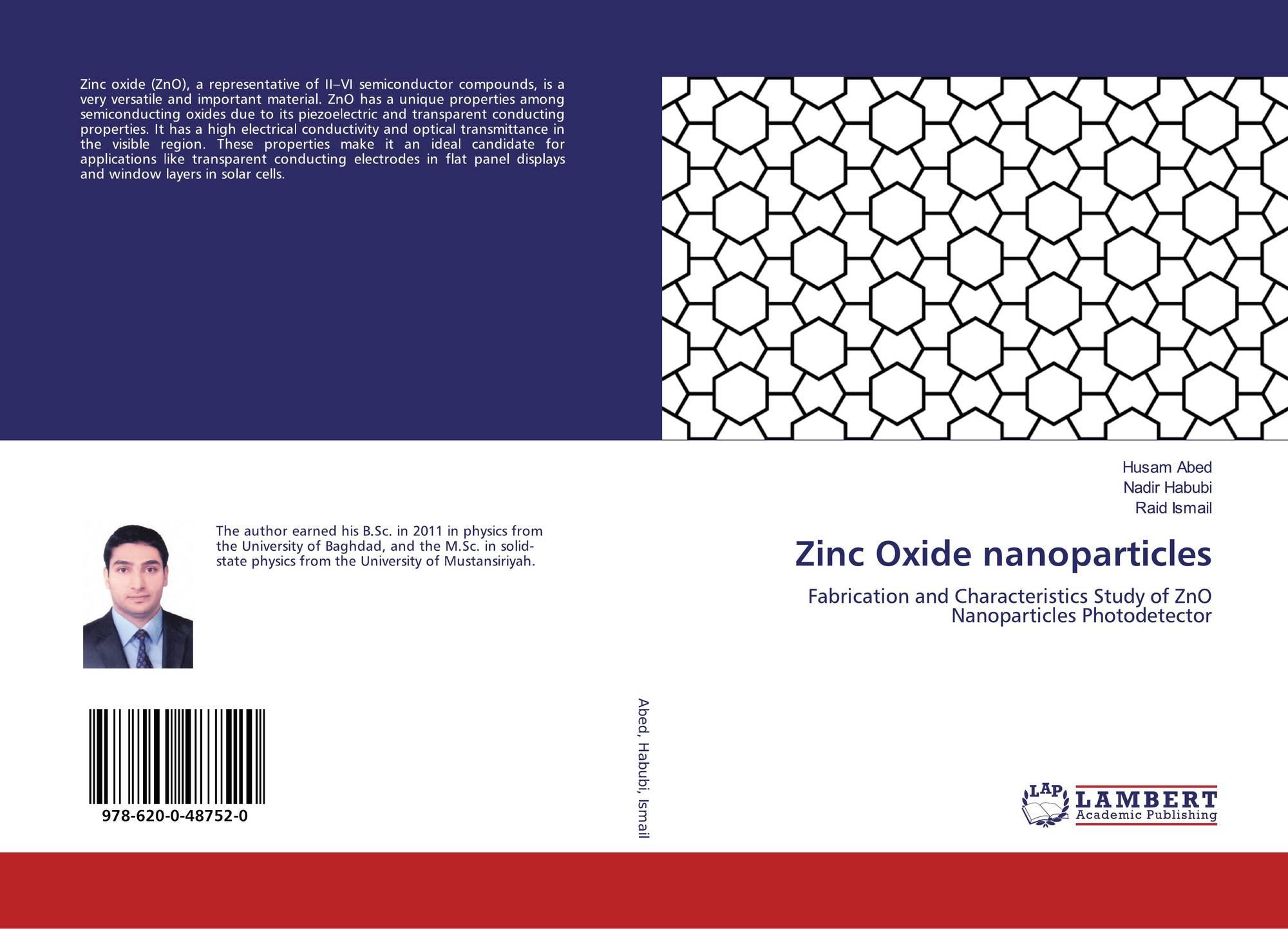 (PDF) Zinc oxide nanoparticle reduced biofilm formation