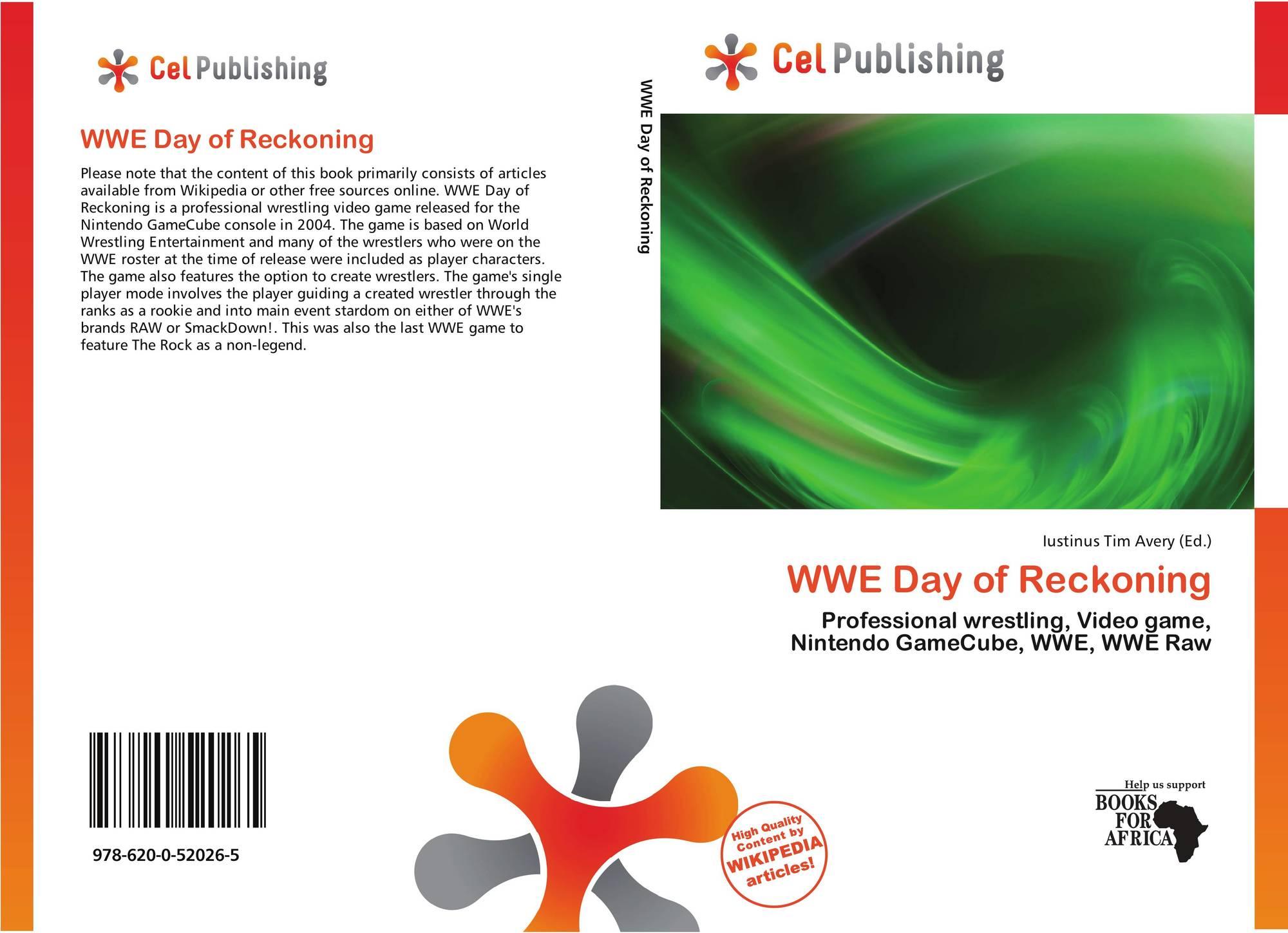 WWE Day of Reckoning, 978-620-0-52026-5, 6200520267