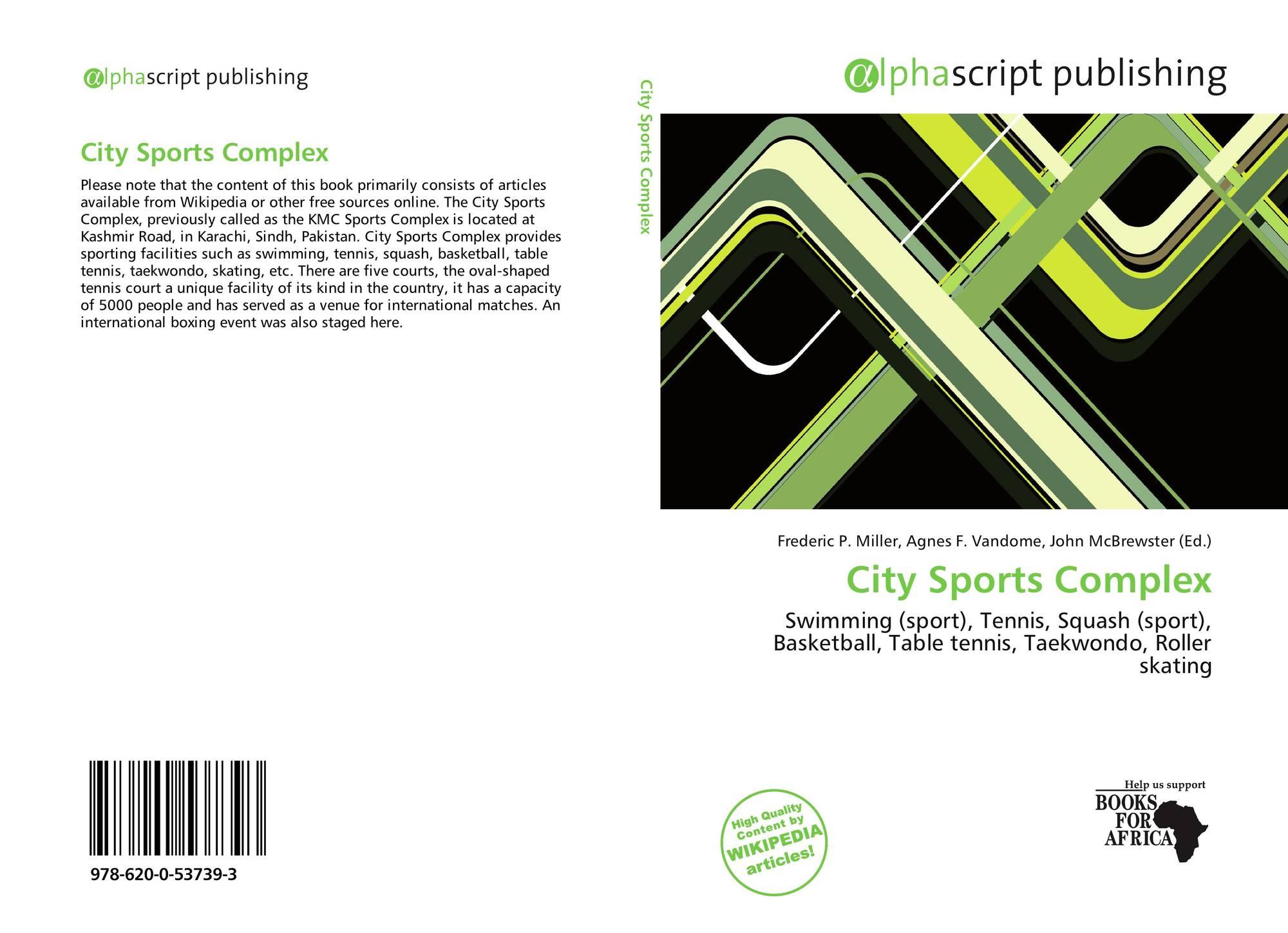 City Sports Complex 978 620 0 53739 3 6200537399 9786200537393