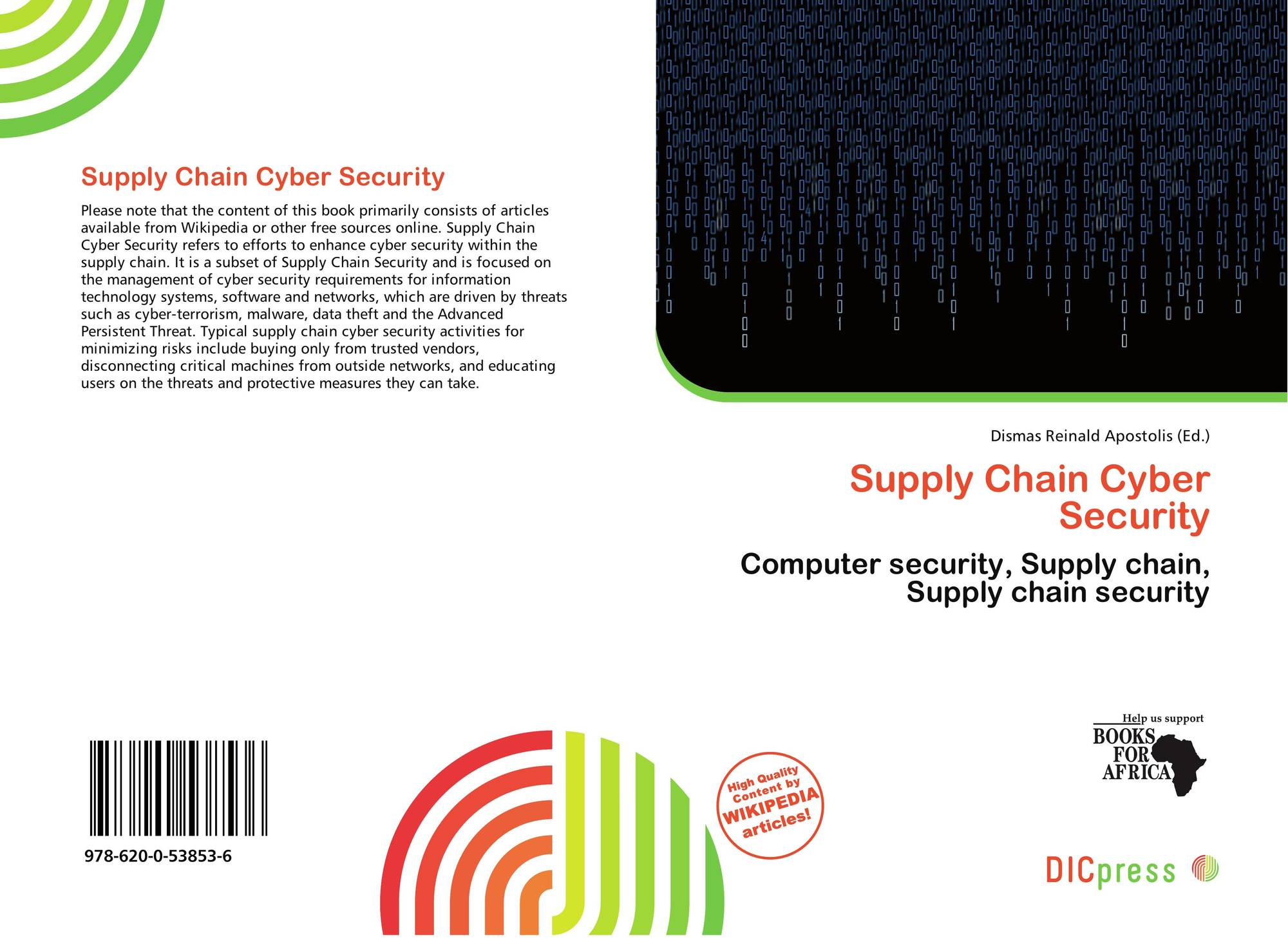 cyber security in the supply chain Cyber threats to supply chain on the rise monitoring a supply chain from start to finish is difficult because very few companies use cyber-security products that.