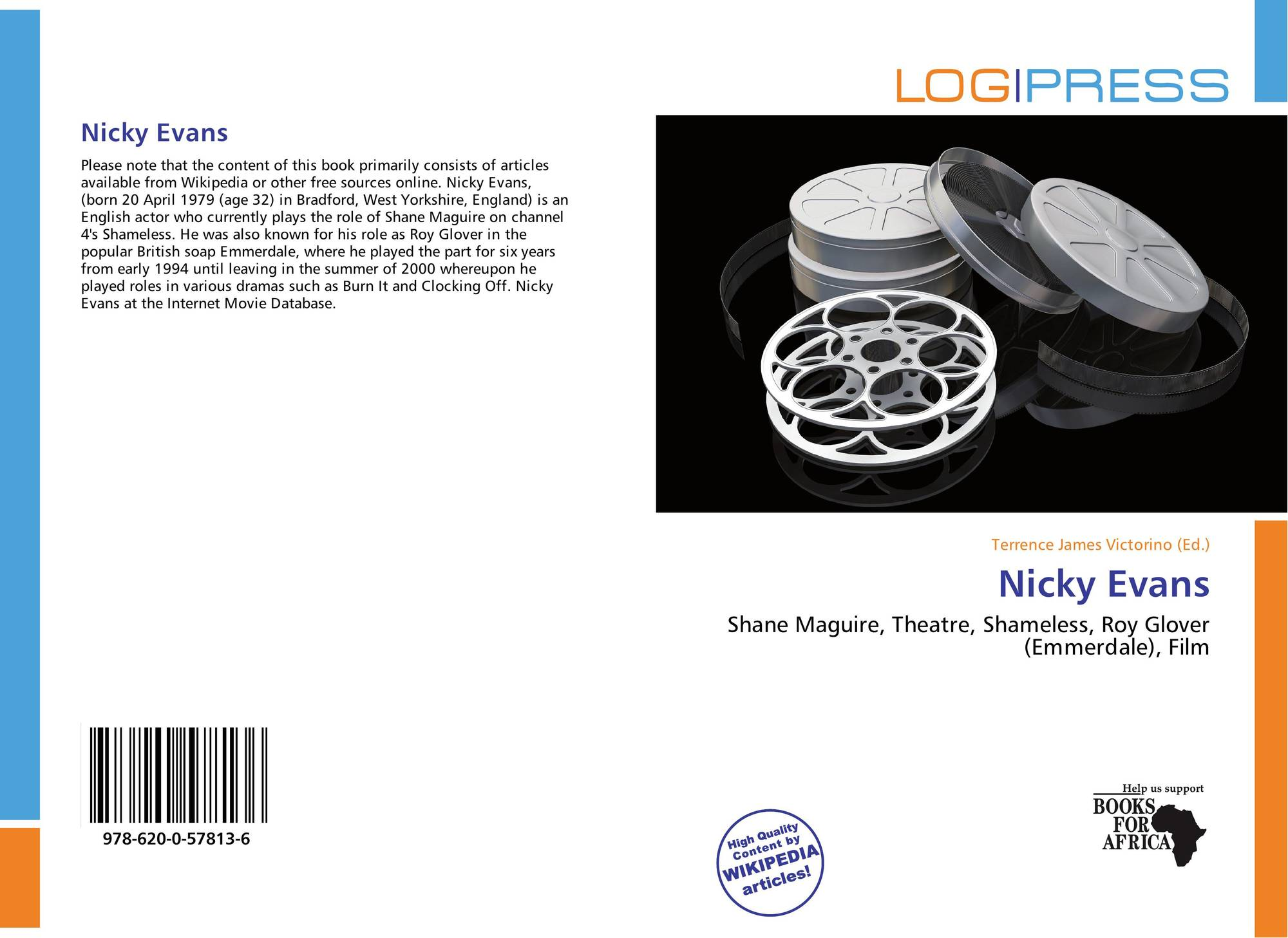 search results for glover bookcover of nicky evans