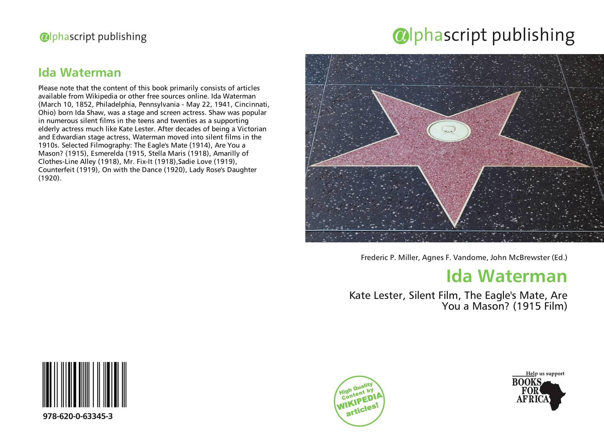Ida Waterman Ida Waterman new foto