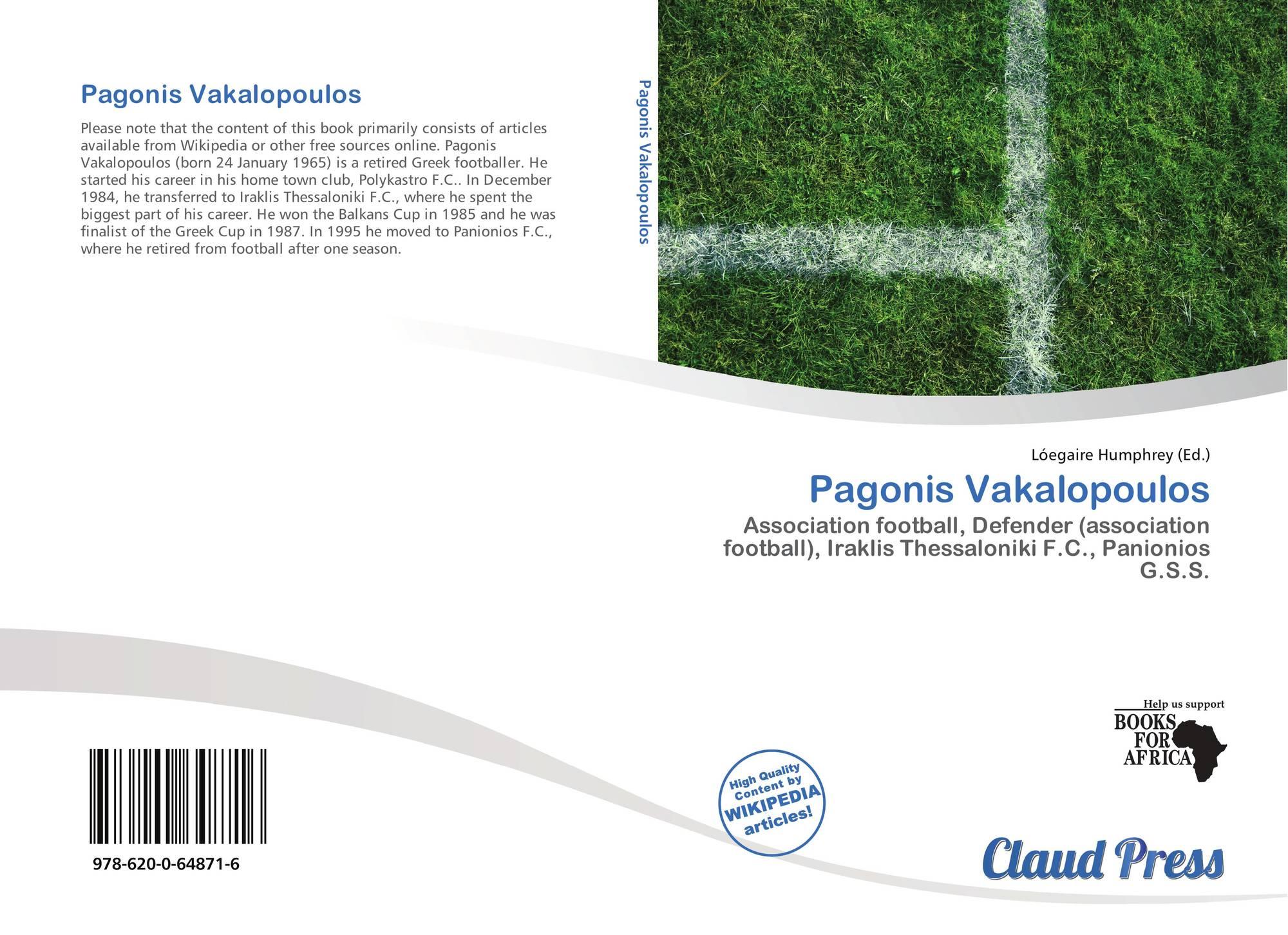 Pagonis Vakalopoulos Pagonis Vakalopoulos 9786200648716 6200648719 9786200648716