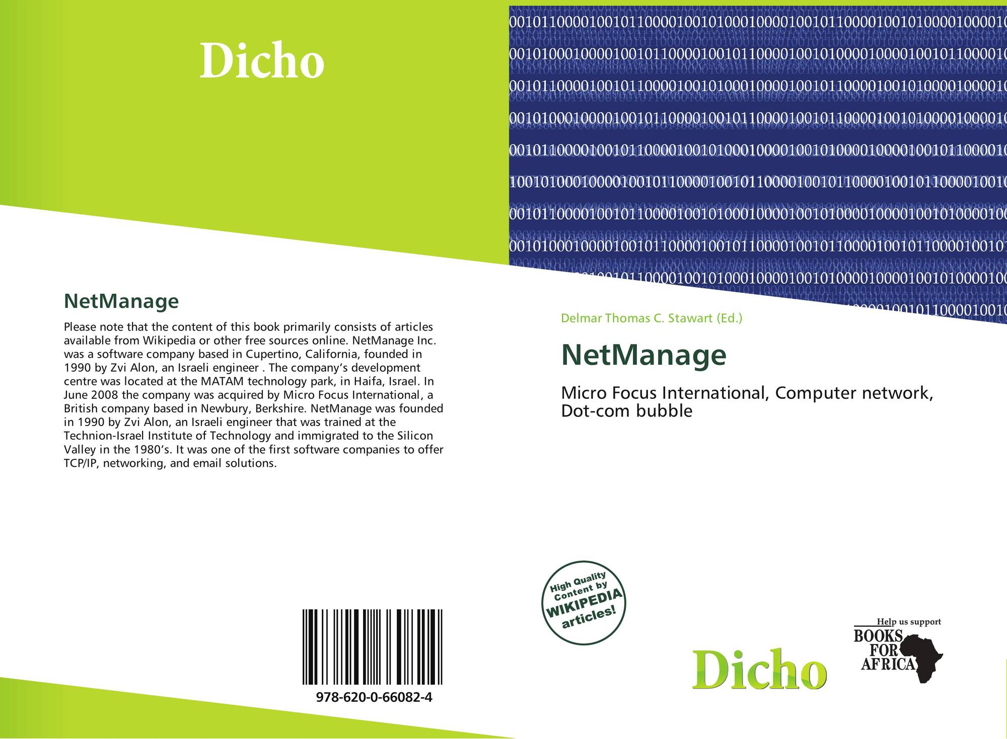 NetManage, 978-620-0-66082-4, 6200660824 ,9786200660824