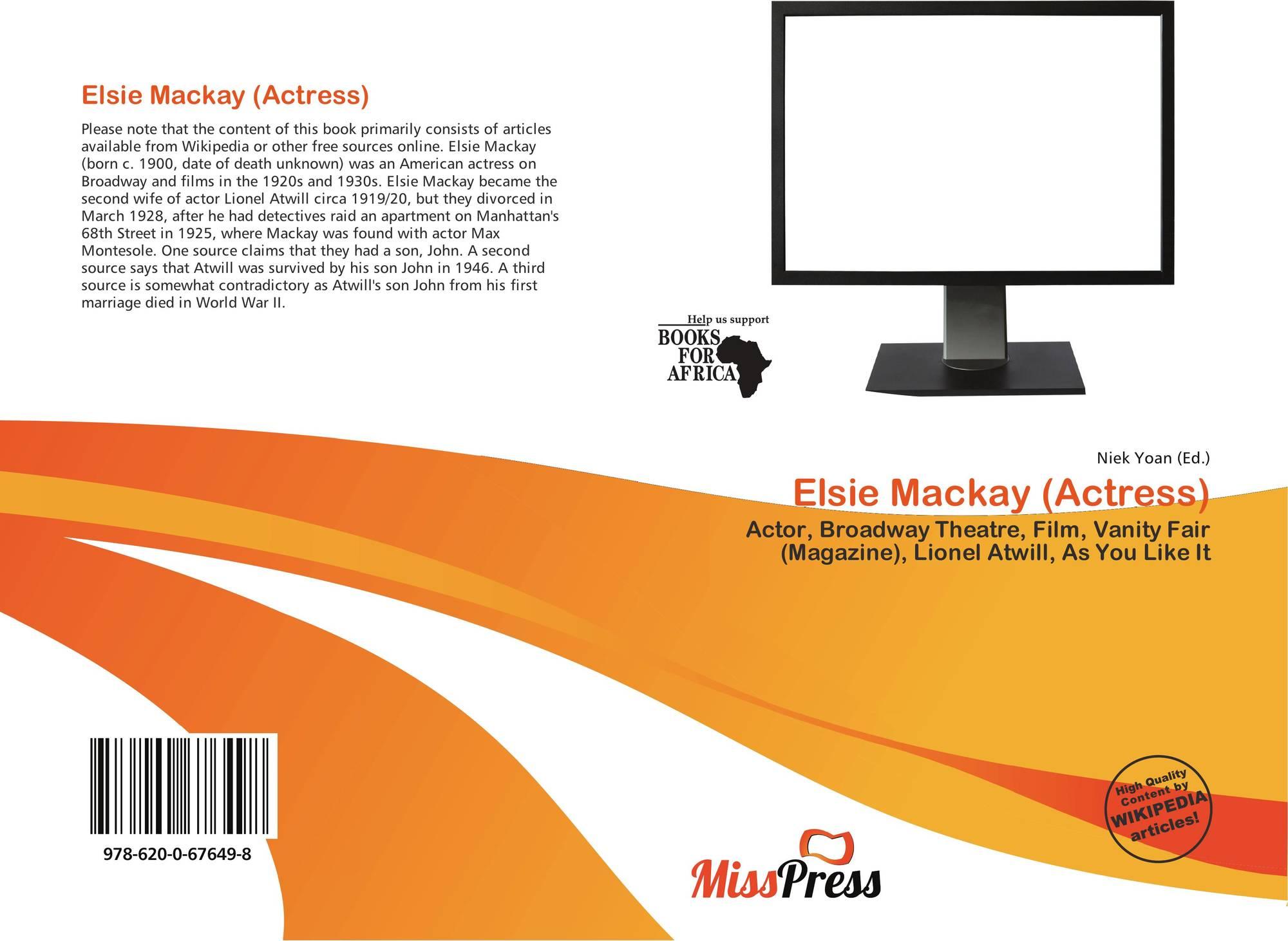 Watch Elsie Mackay (actress) video
