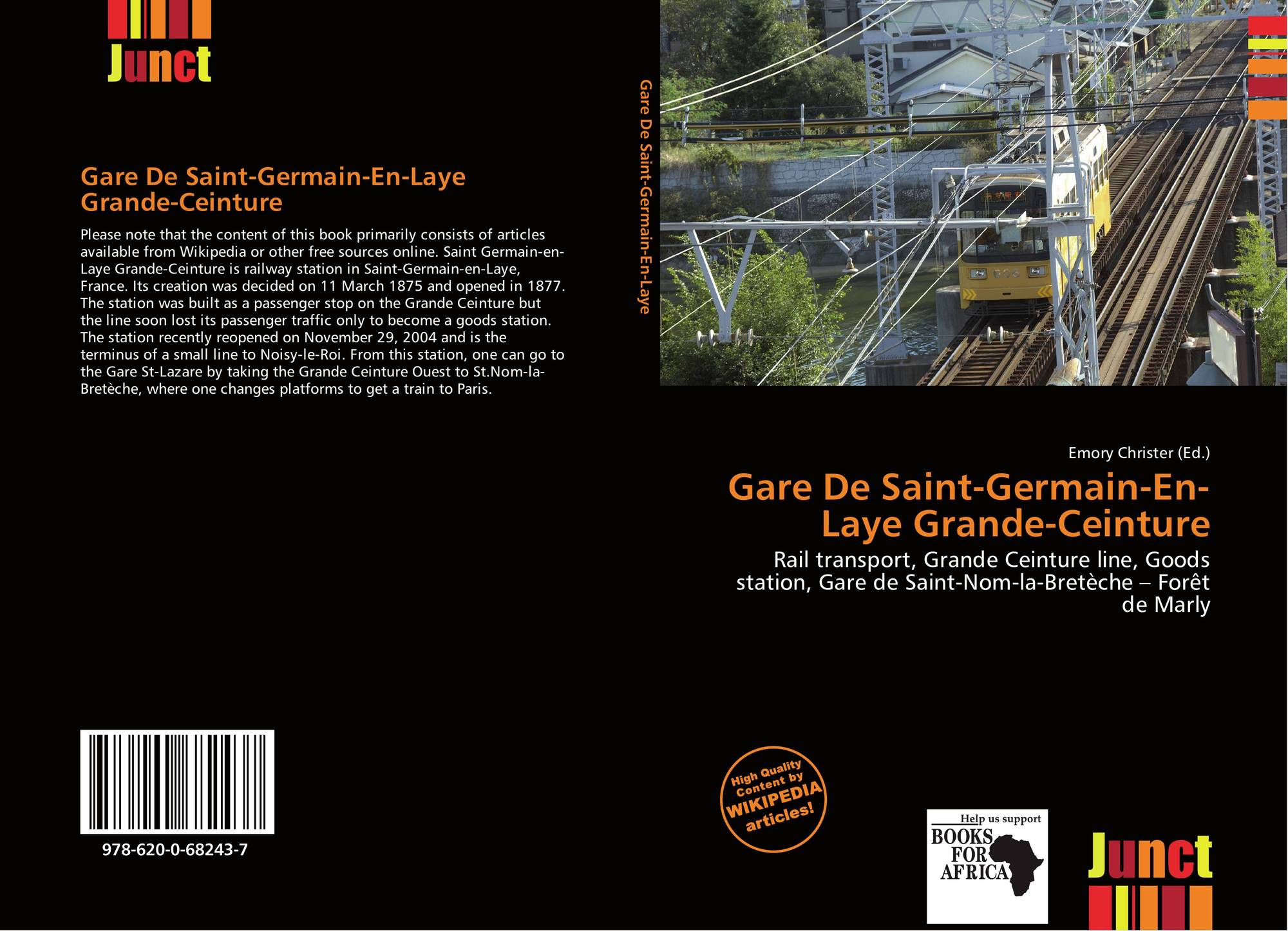 Gare de saint germain en laye grande ceinture 978 620 0 68243 7 6200682437 9786200682437 - Bureau de change st germain en laye ...