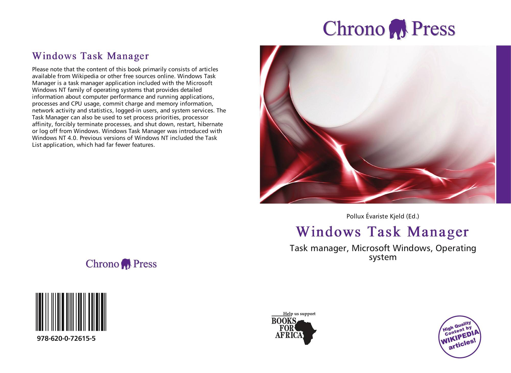 Windows Task Manager, 978-620-0-72615-5, 6200726159