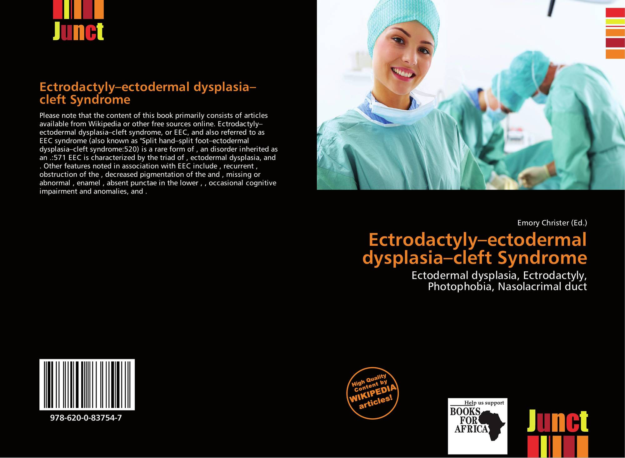 Ectrodactyly–ectodermal dysplasia–cleft Syndrome, 978-620-0