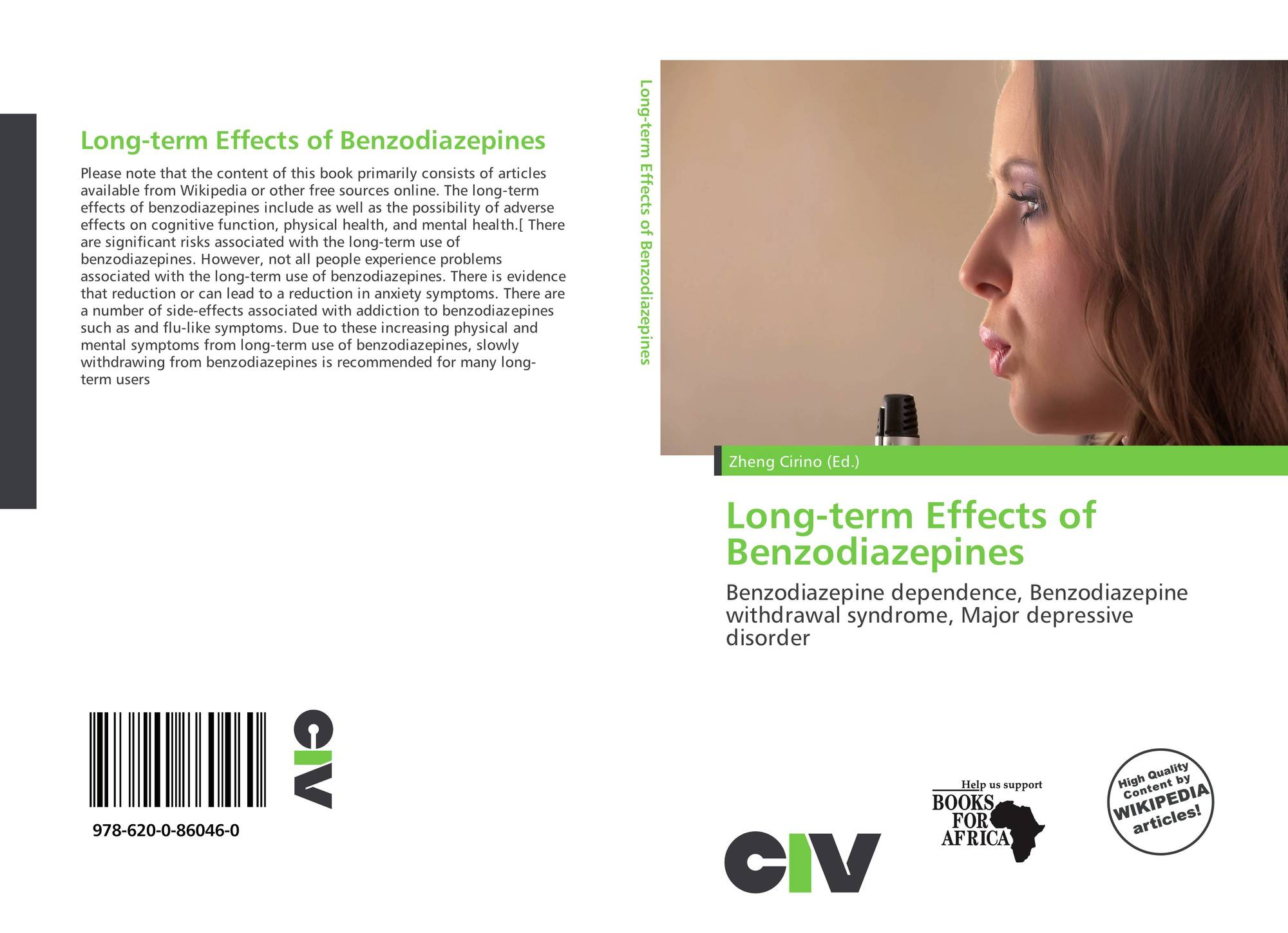 Long-term Effects of Benzodiazepines, 978-620-0-86046-0