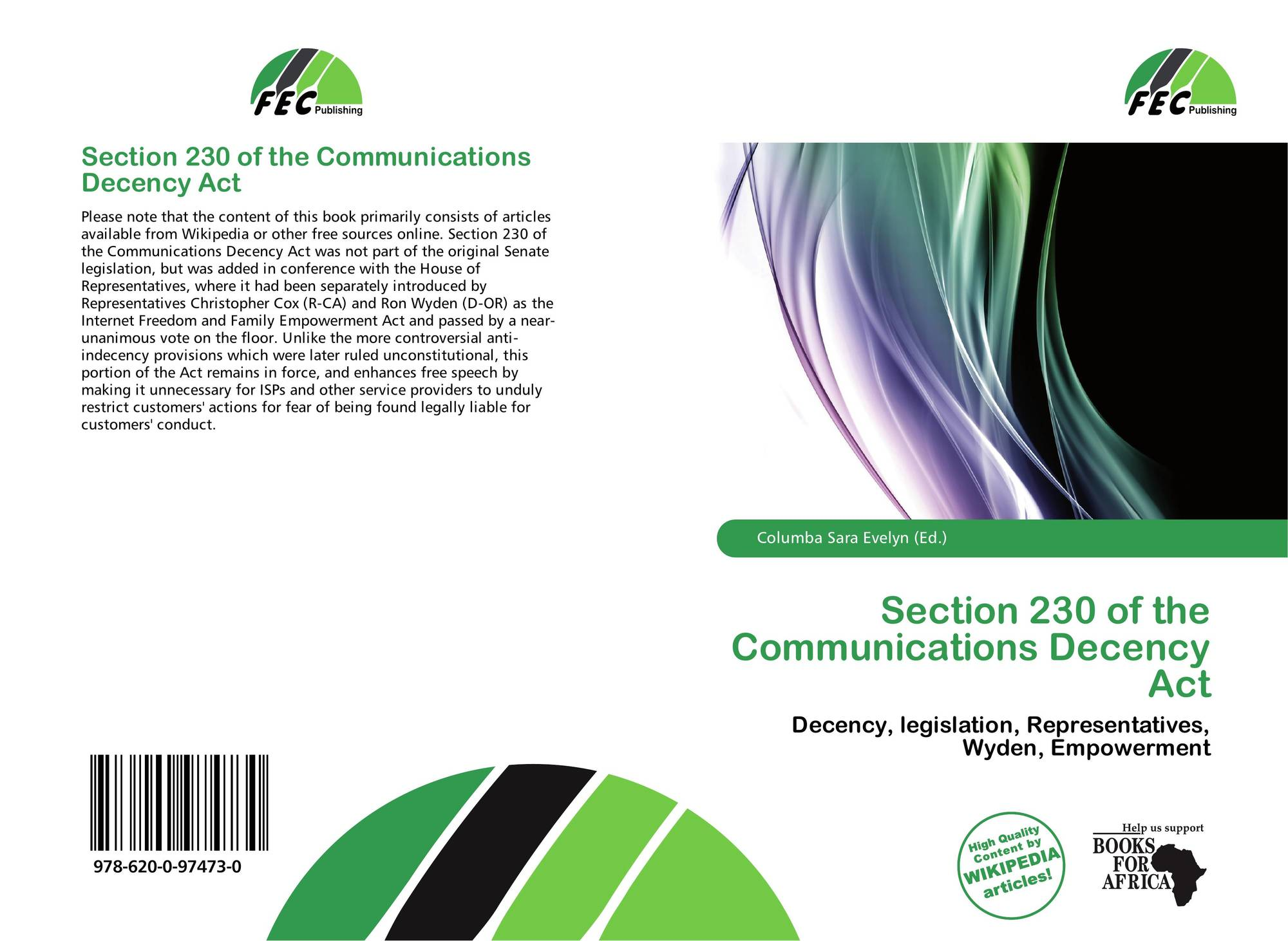communications decency act essay