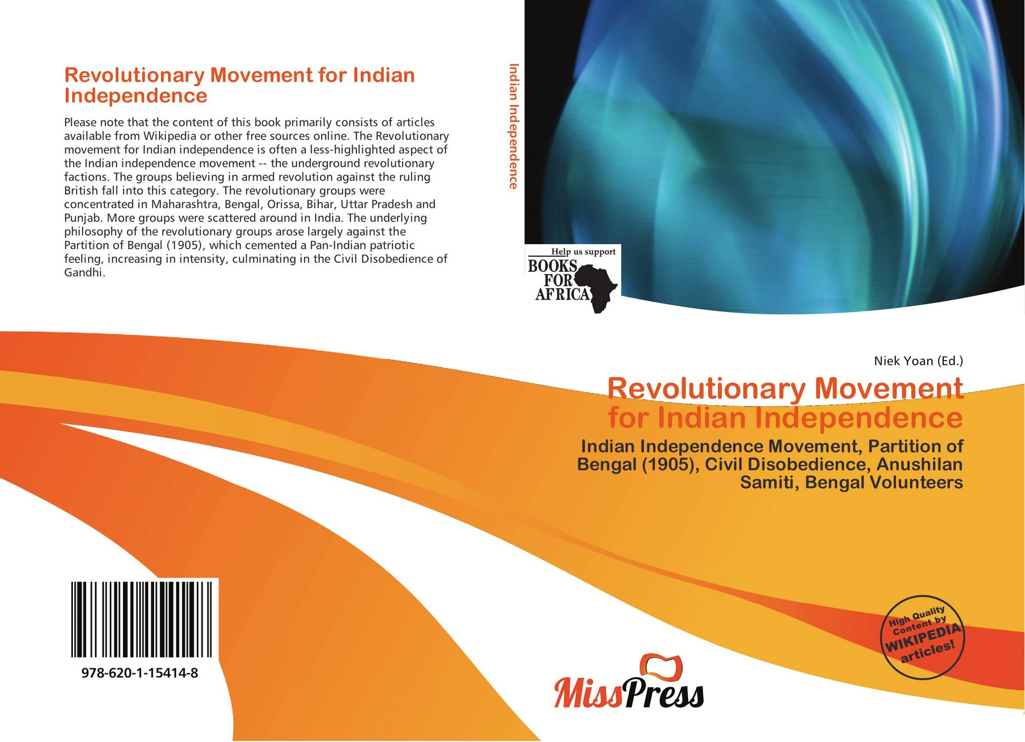 Revolutionary Movement for Indian Independence, 978-620-1