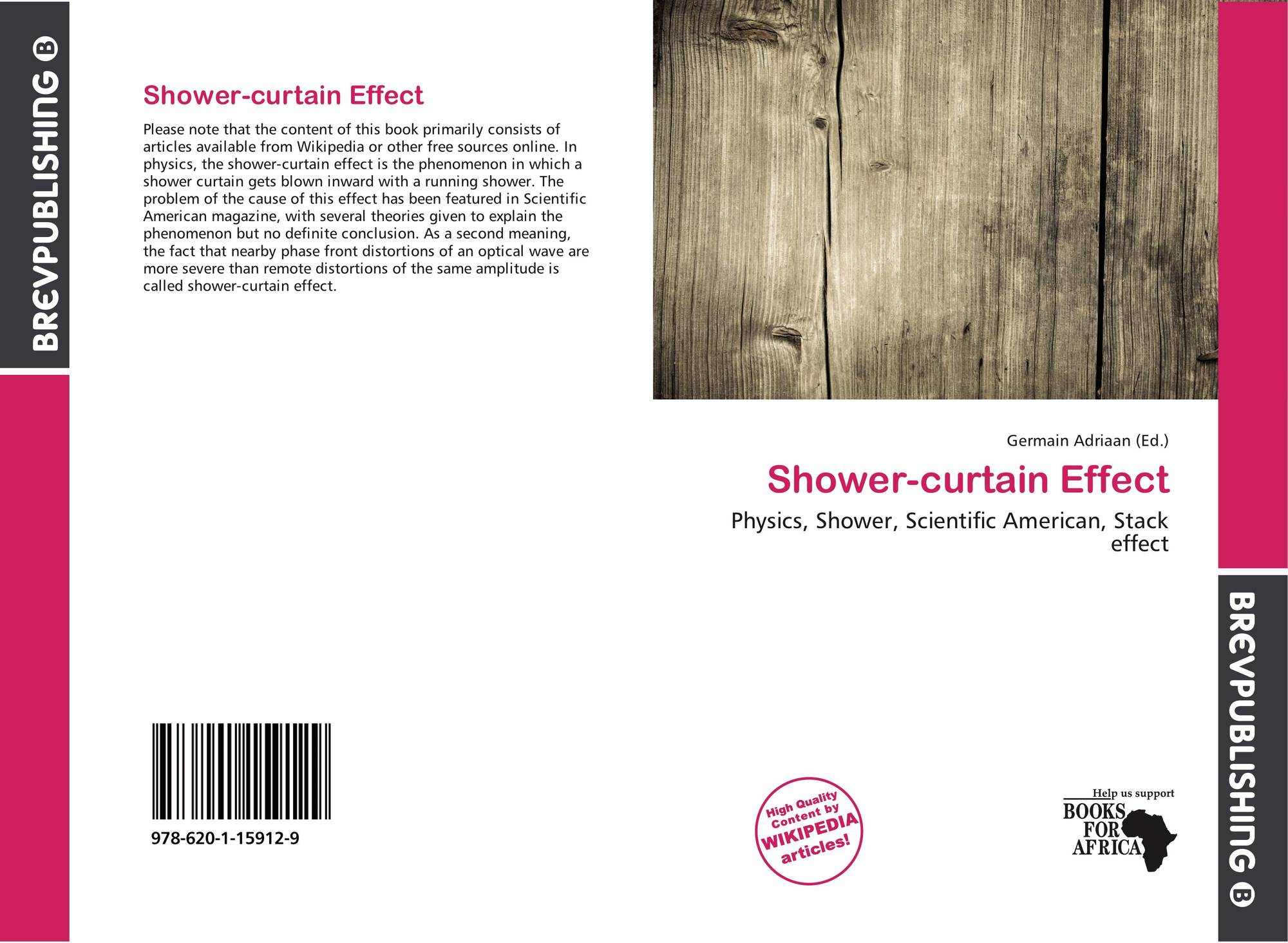 Bookcover Of Shower Curtain Effect 9786201159129